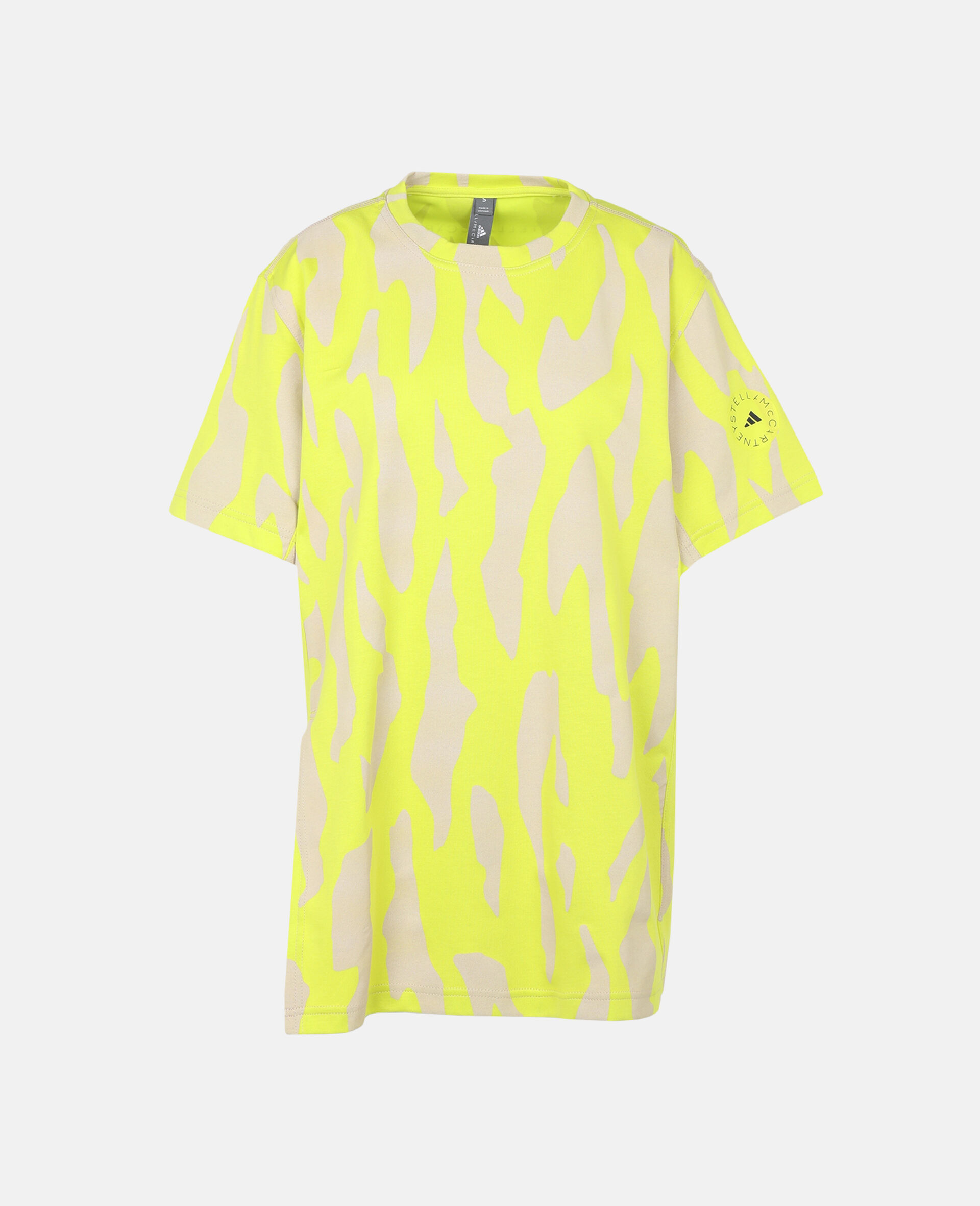 T-shirt Future Playground-Jaune-large image number 0
