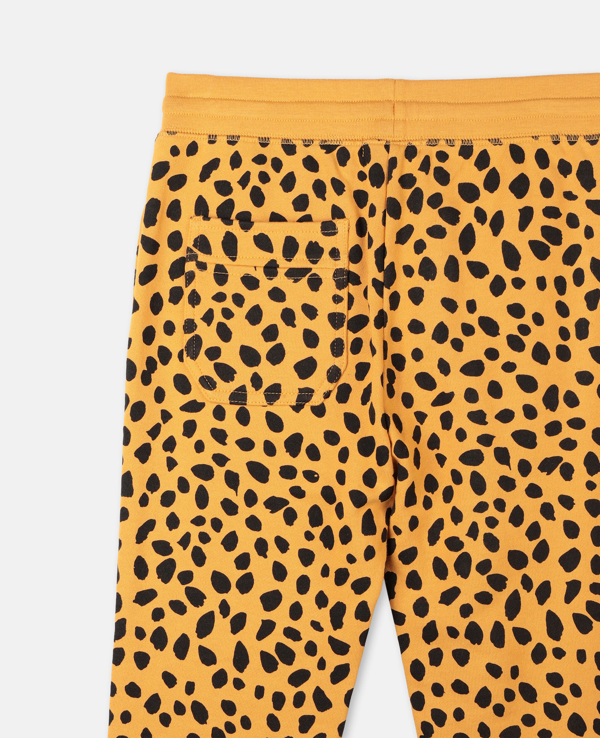 Cheetah Dots Cotton Joggers  -Multicolour-large image number 2
