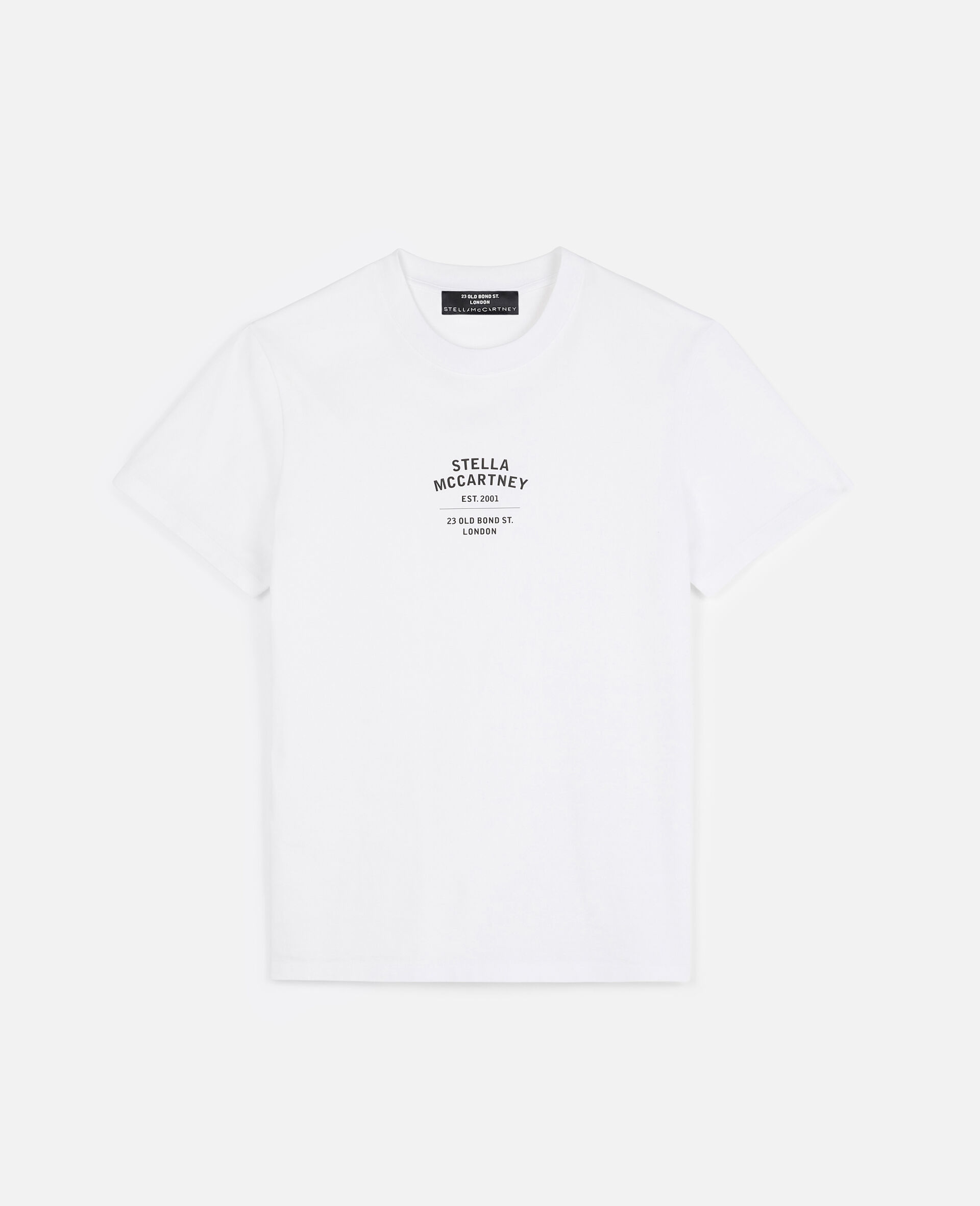 23 OBS Organic Cotton T-shirt-White-large image number 1
