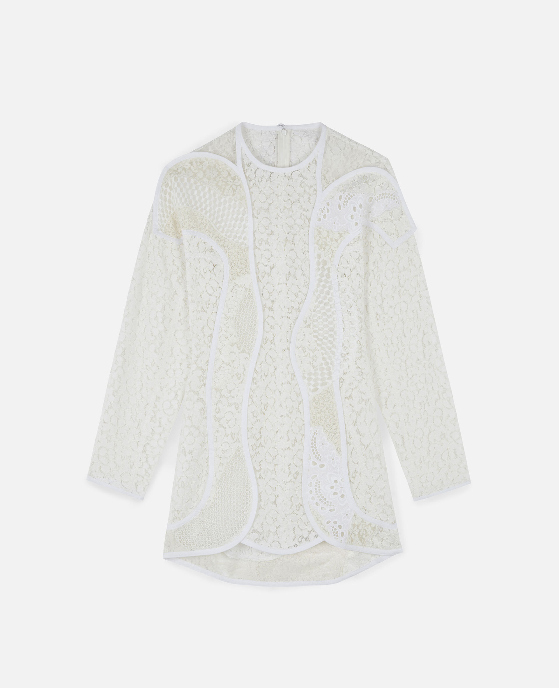 Daphne Mini Dress-White-large image number 0