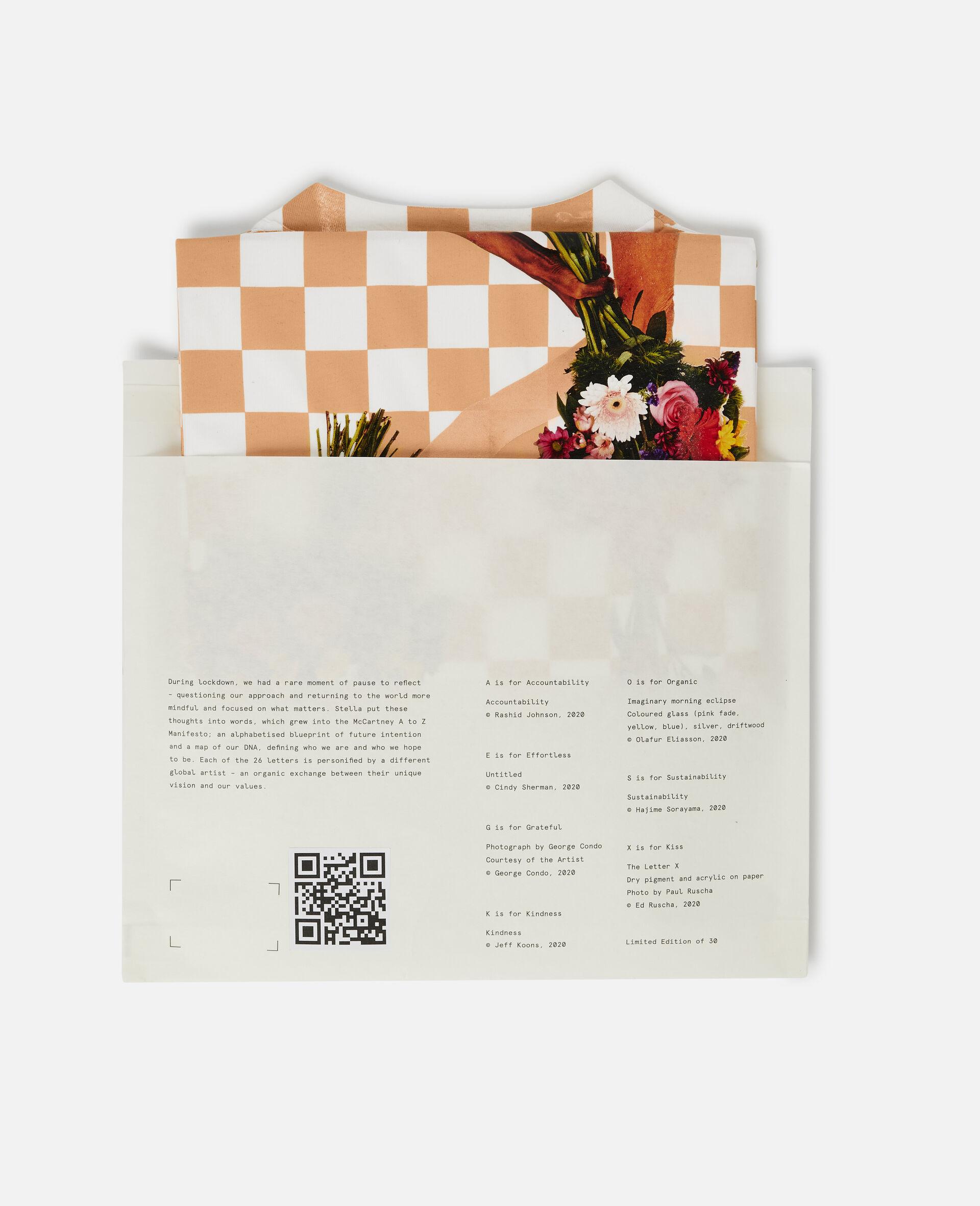"Jeff Koons ""K"" T-shirt-White-large image number 5"