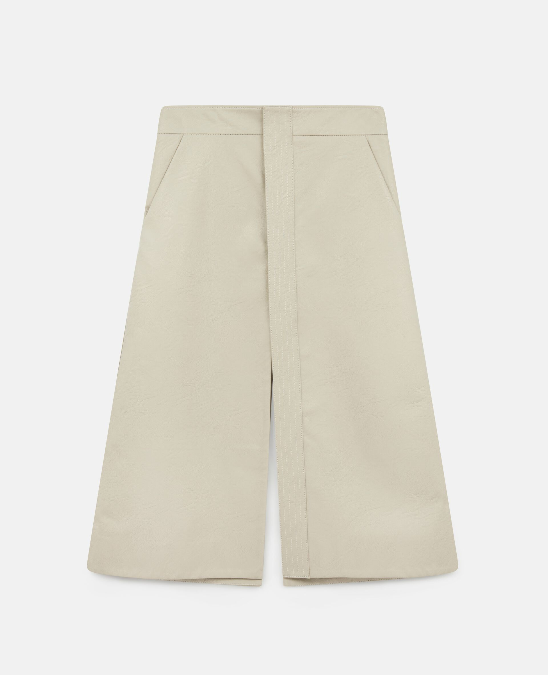 Lauren Alter Mat Skirt-Beige-large image number 0