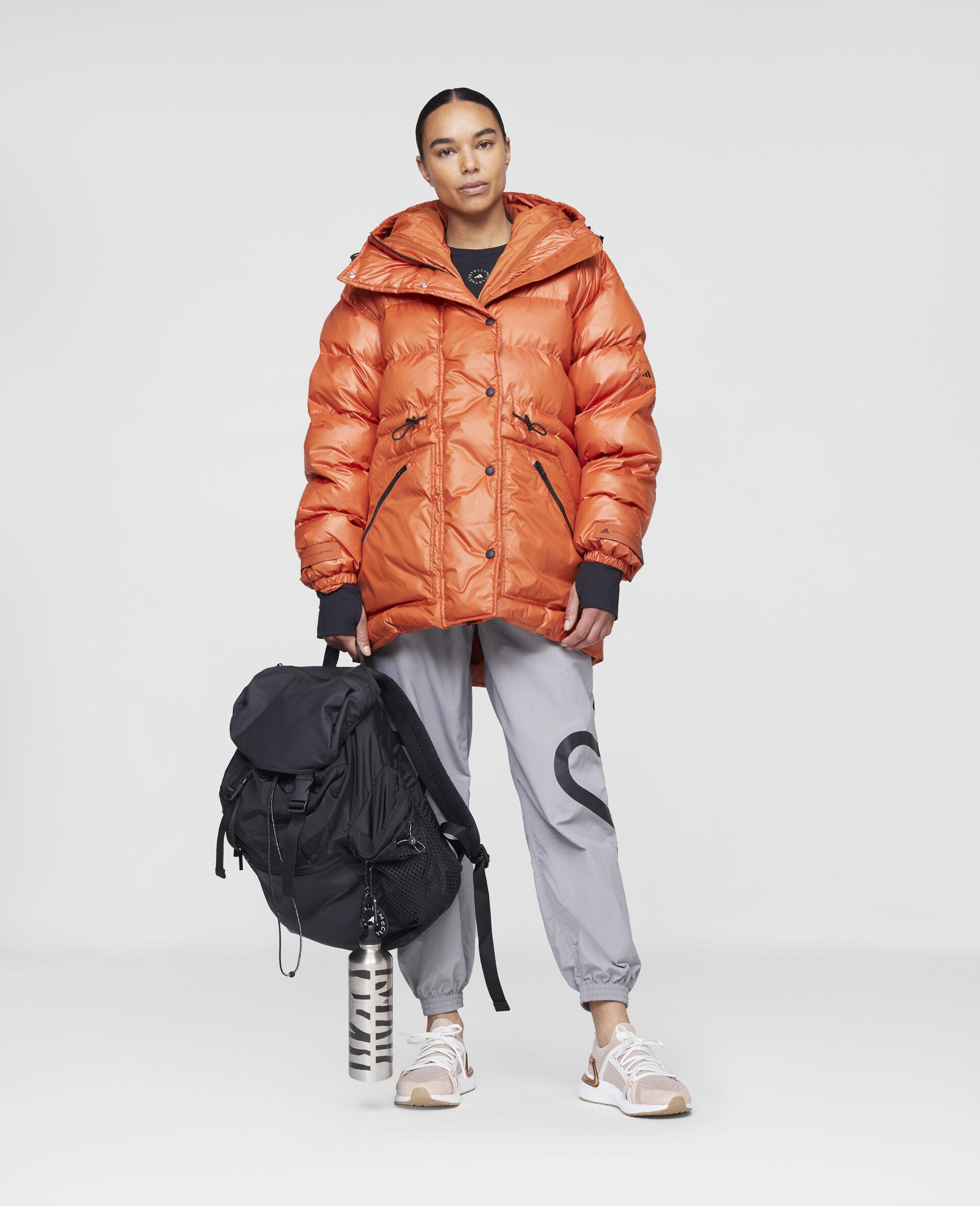 Training Mid Puffer Jacket-Orange-large image number 1