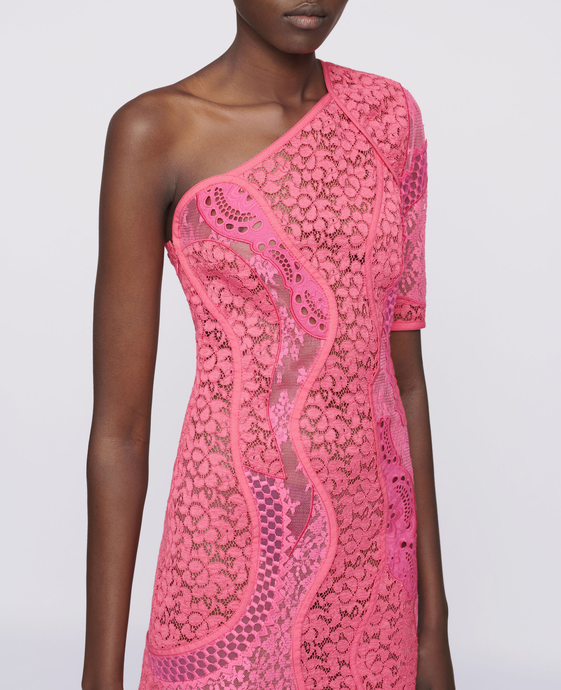 Daniela Mini Dress-Pink-large image number 3