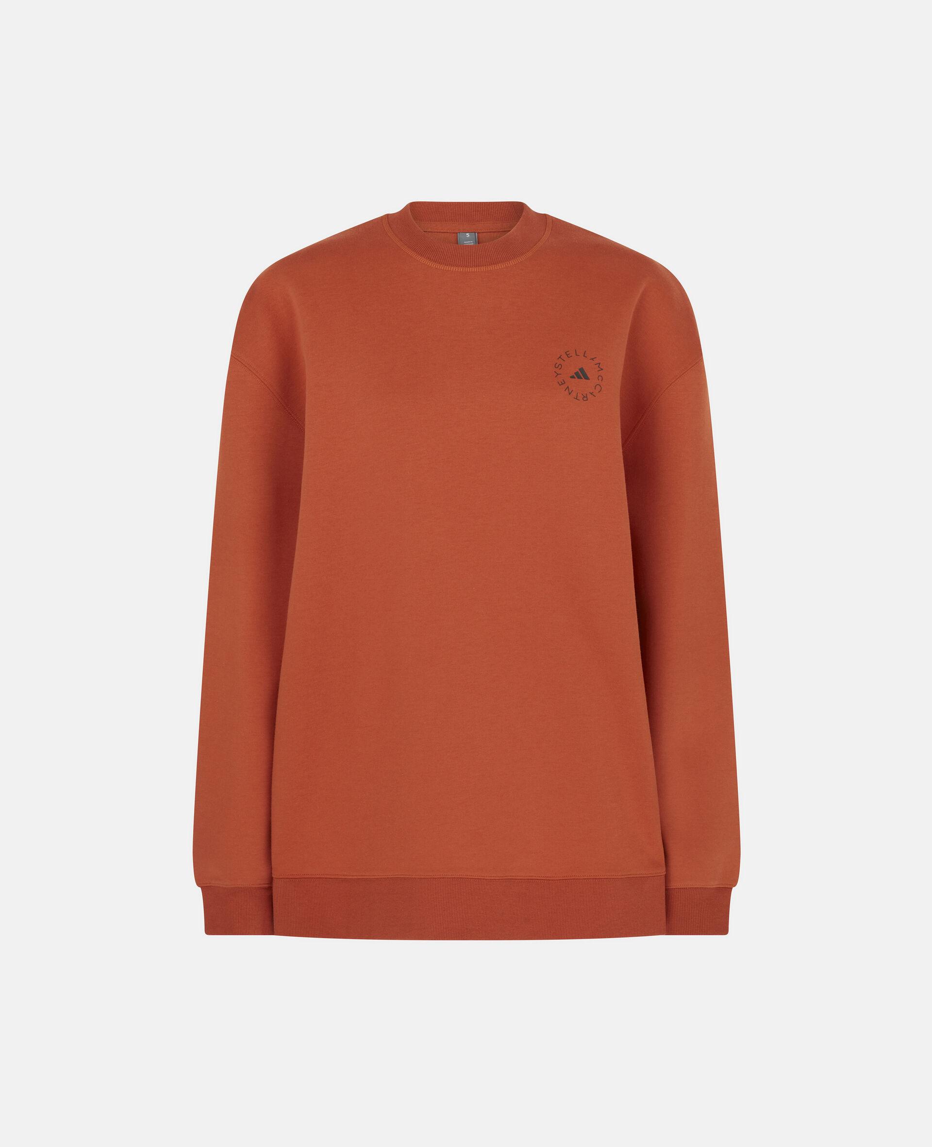 Burnt Brick Training Sweatshirt-Orange-large image number 0