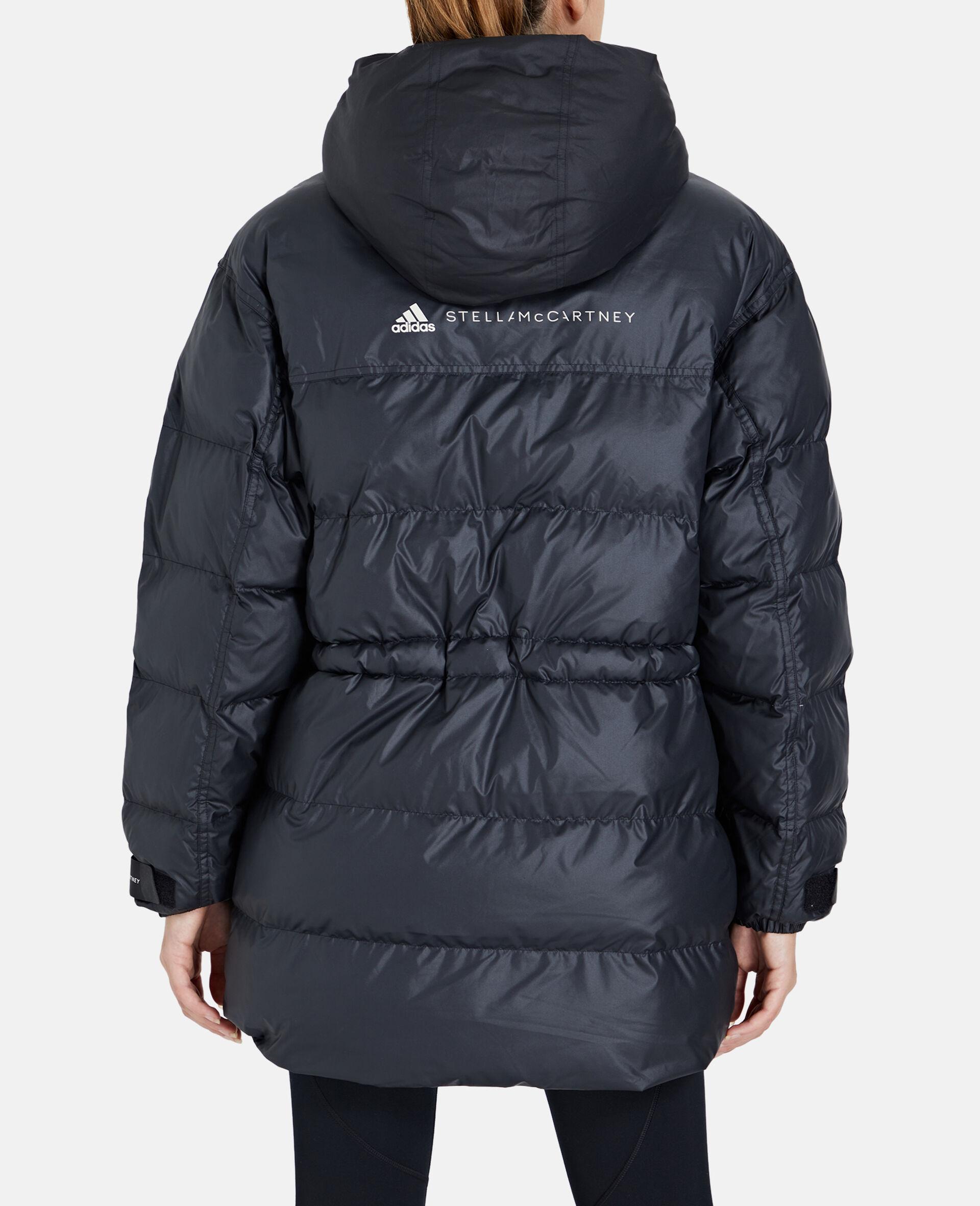 2 合 1 中长款衬垫夹克-黑色-large image number 2