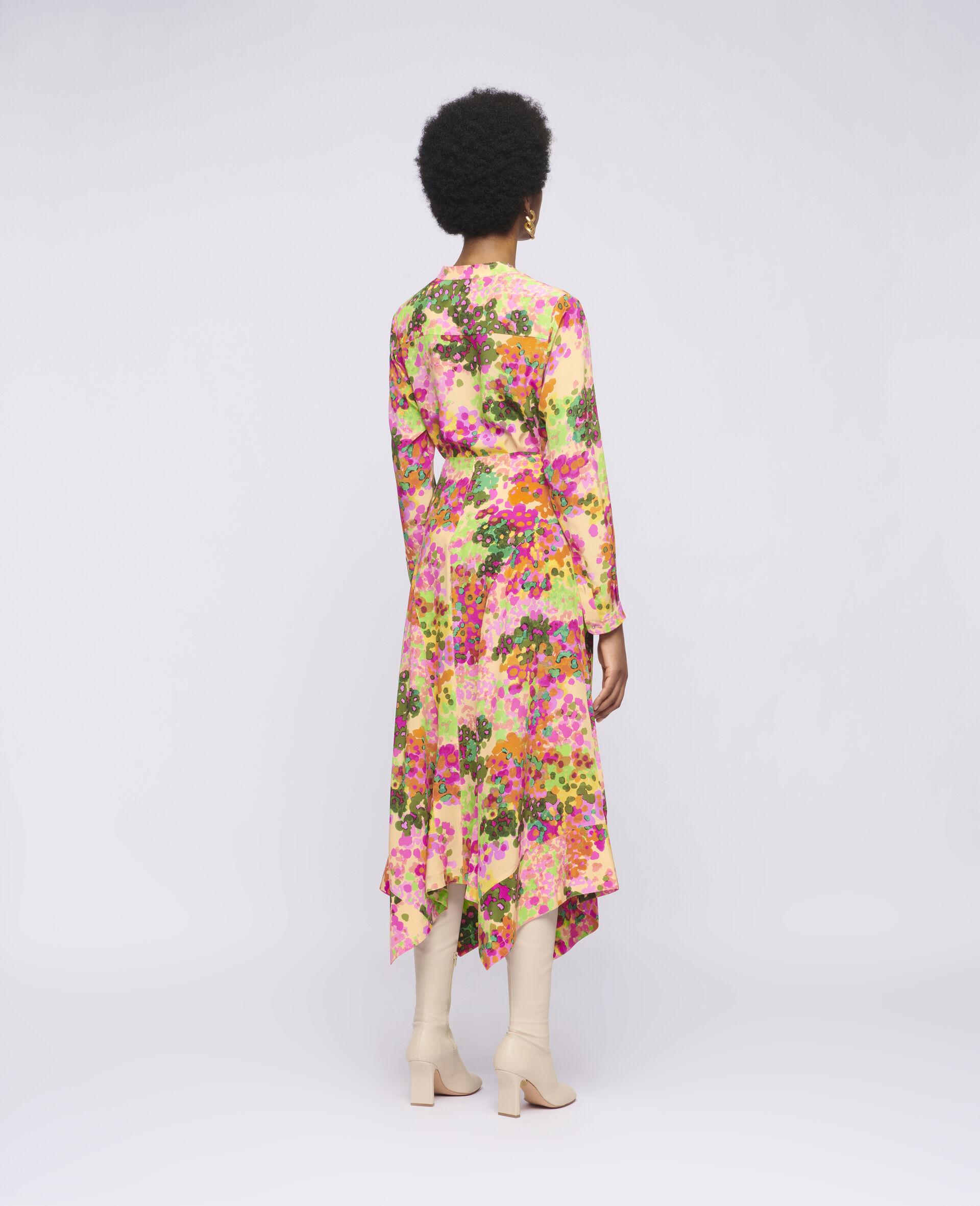 Naya Silk Skirt-Multicolour-large image number 2