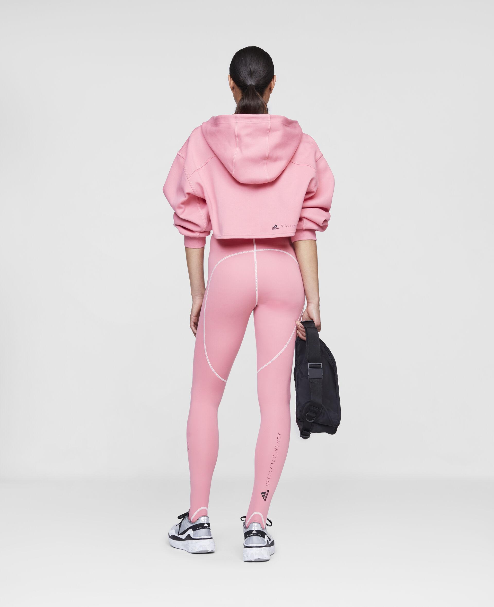 Pink Training Crop Hoodie-Pink-large image number 2