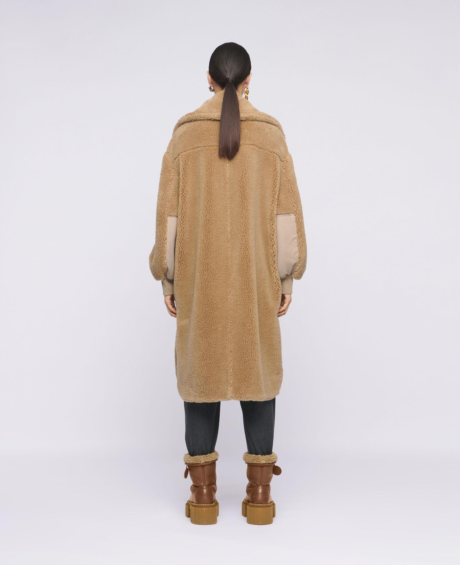 Mantel Luna aus Teddy Mat-Brown-large image number 2