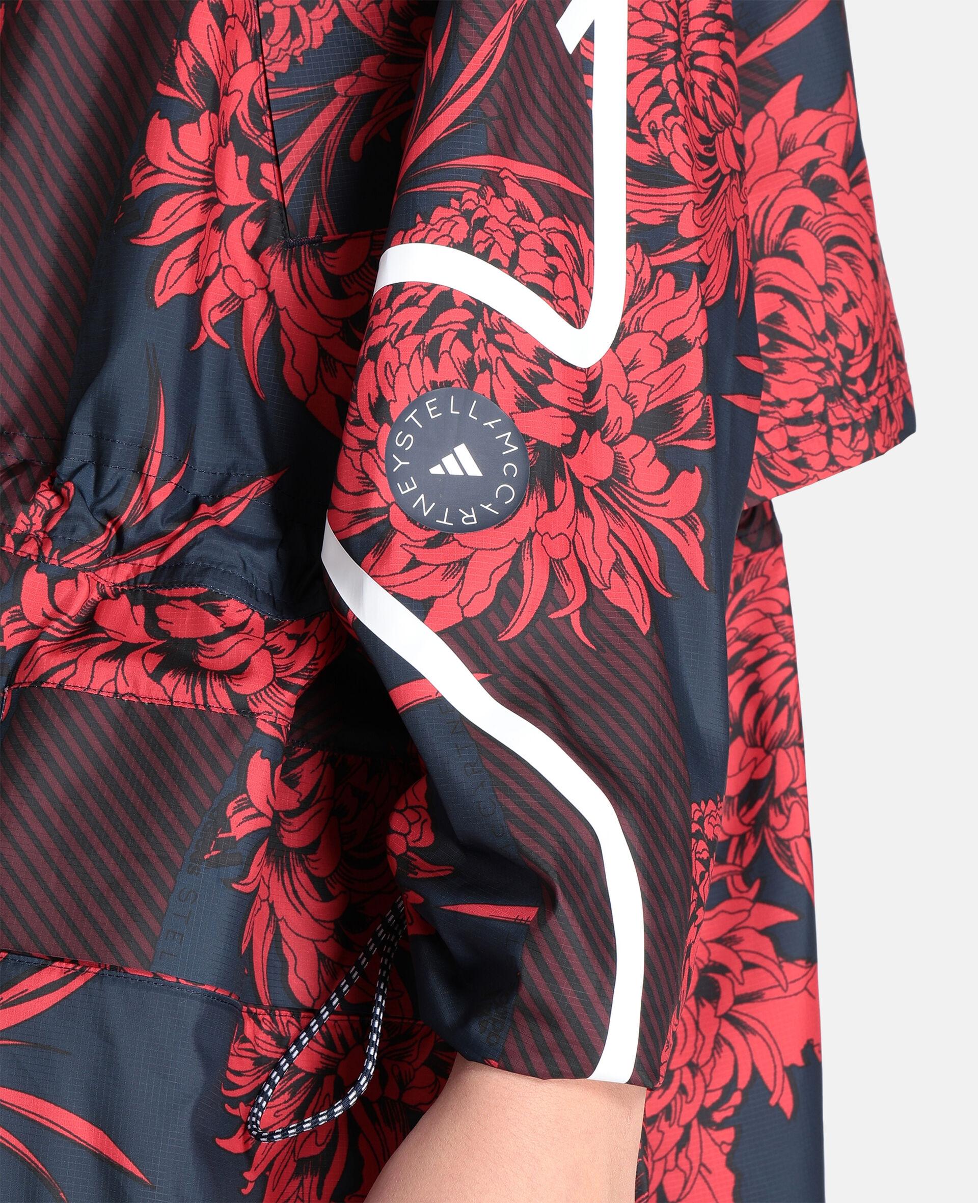 Long Lightweight Parka-Red-large image number 3
