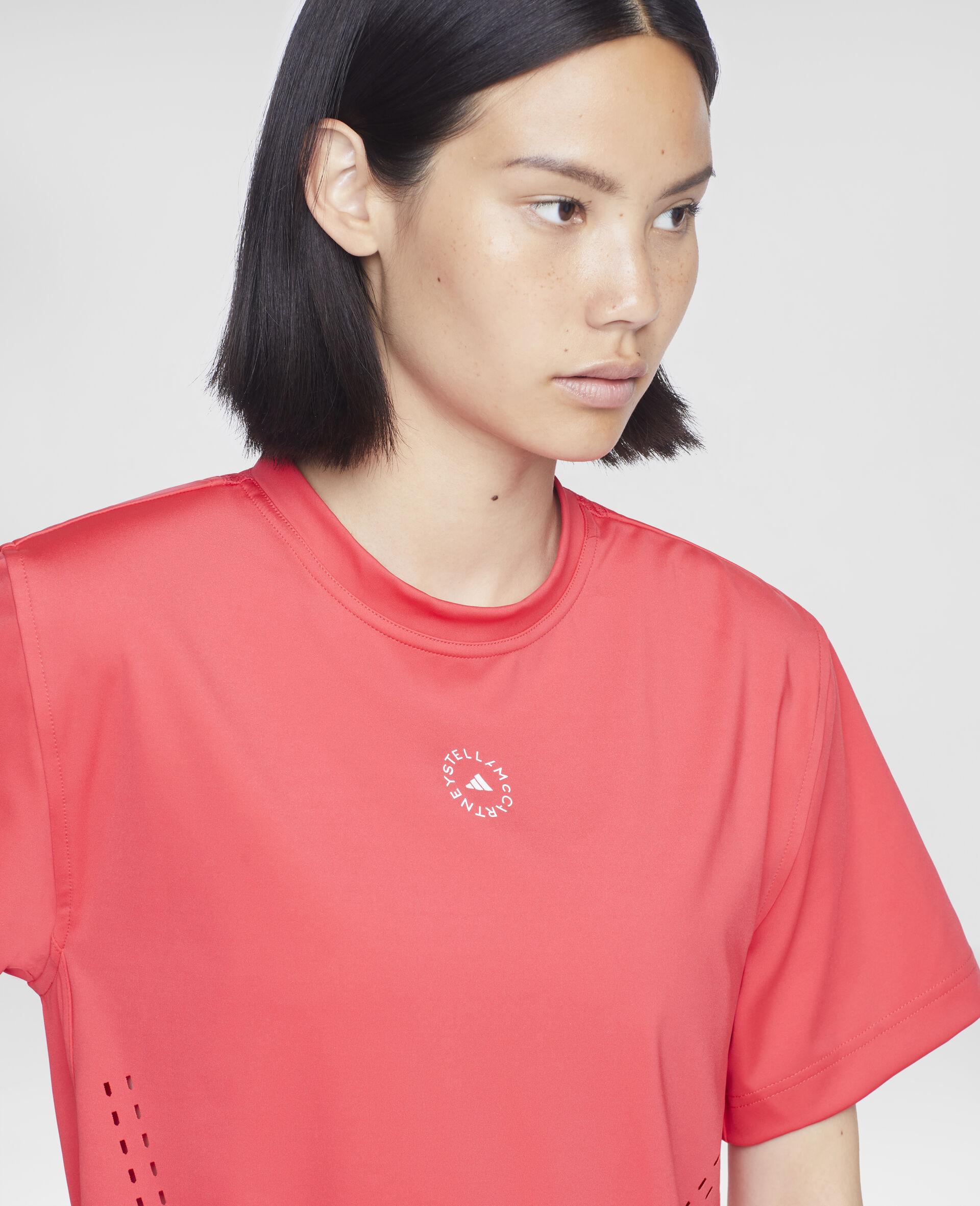 Active Pink Training T-shirt-Pink-large image number 3