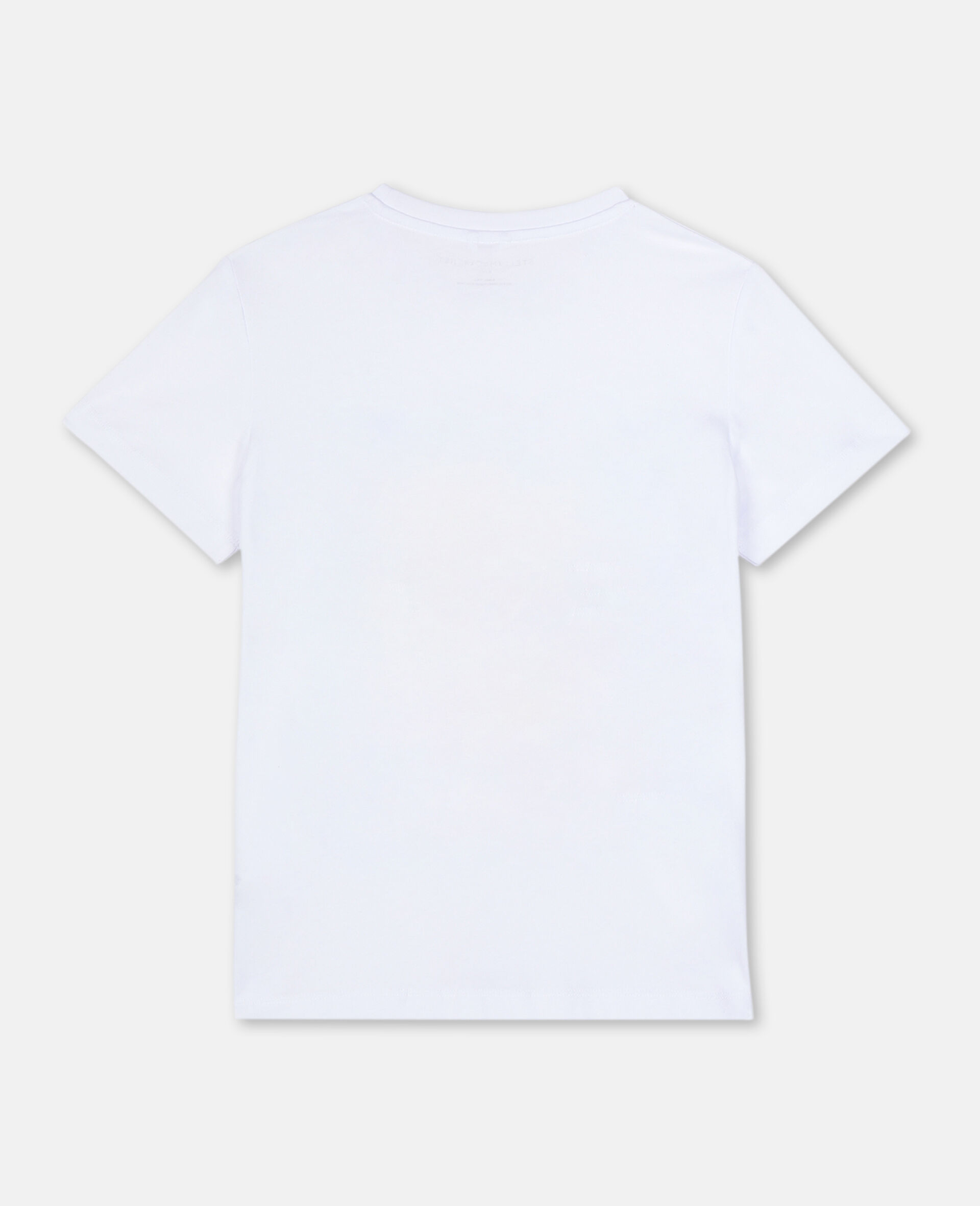 Postcard Cotton T-shirt-White-large image number 3