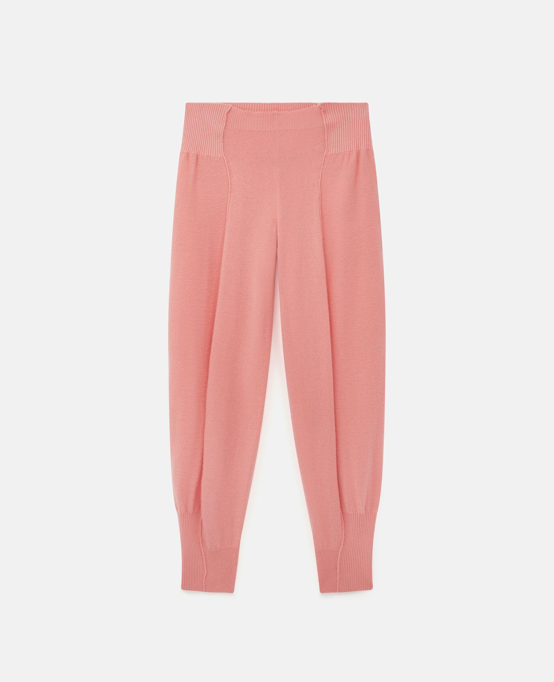 Knit Trousers -Orange-large image number 0