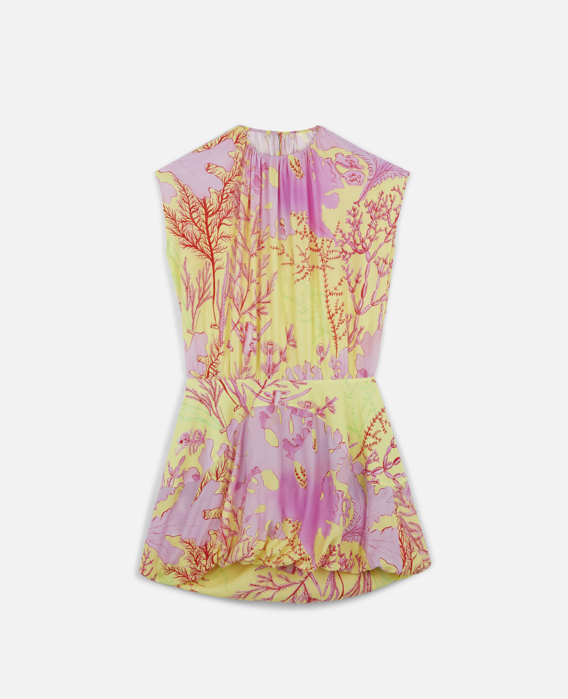 Bethany Silk Dress-Multicolour-large image number 0