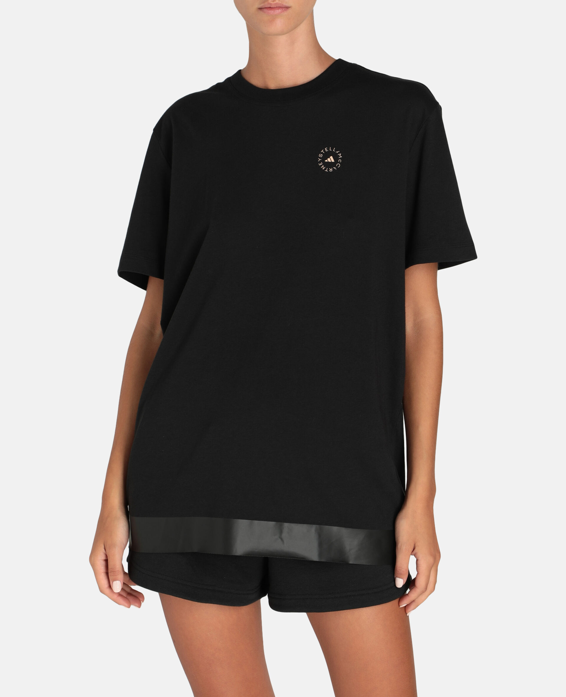 Black Training T-Shirt-Black-large image number 4