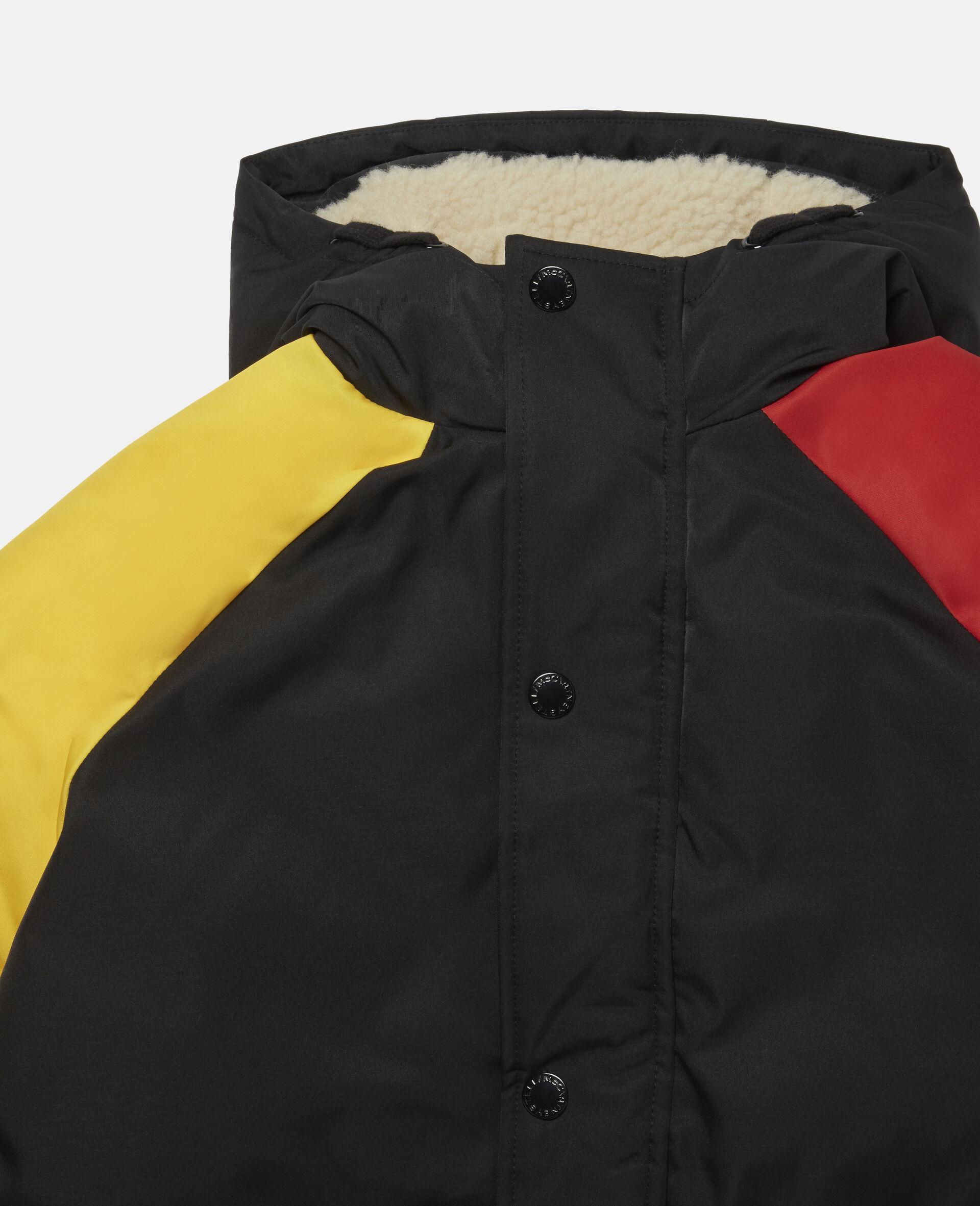 Colourblock Puffer Jacket-Multicolour-large image number 1