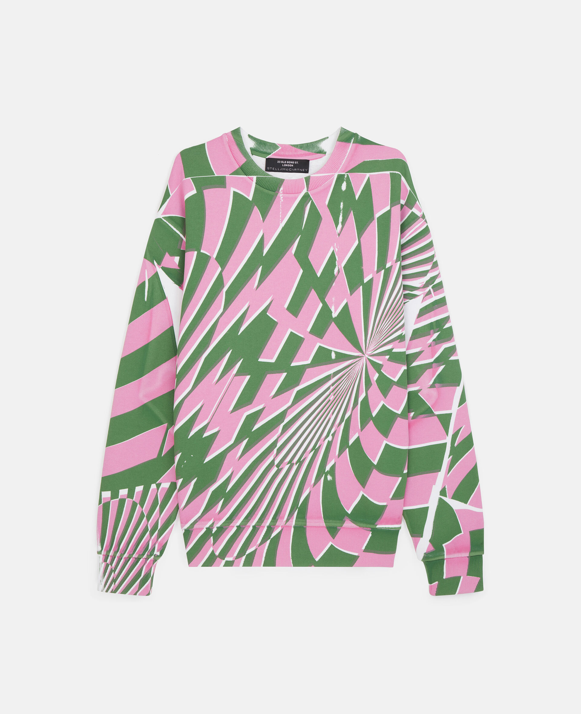 Ed Curtis Psychedelic Sweatshirt -Multicolour-large image number 0