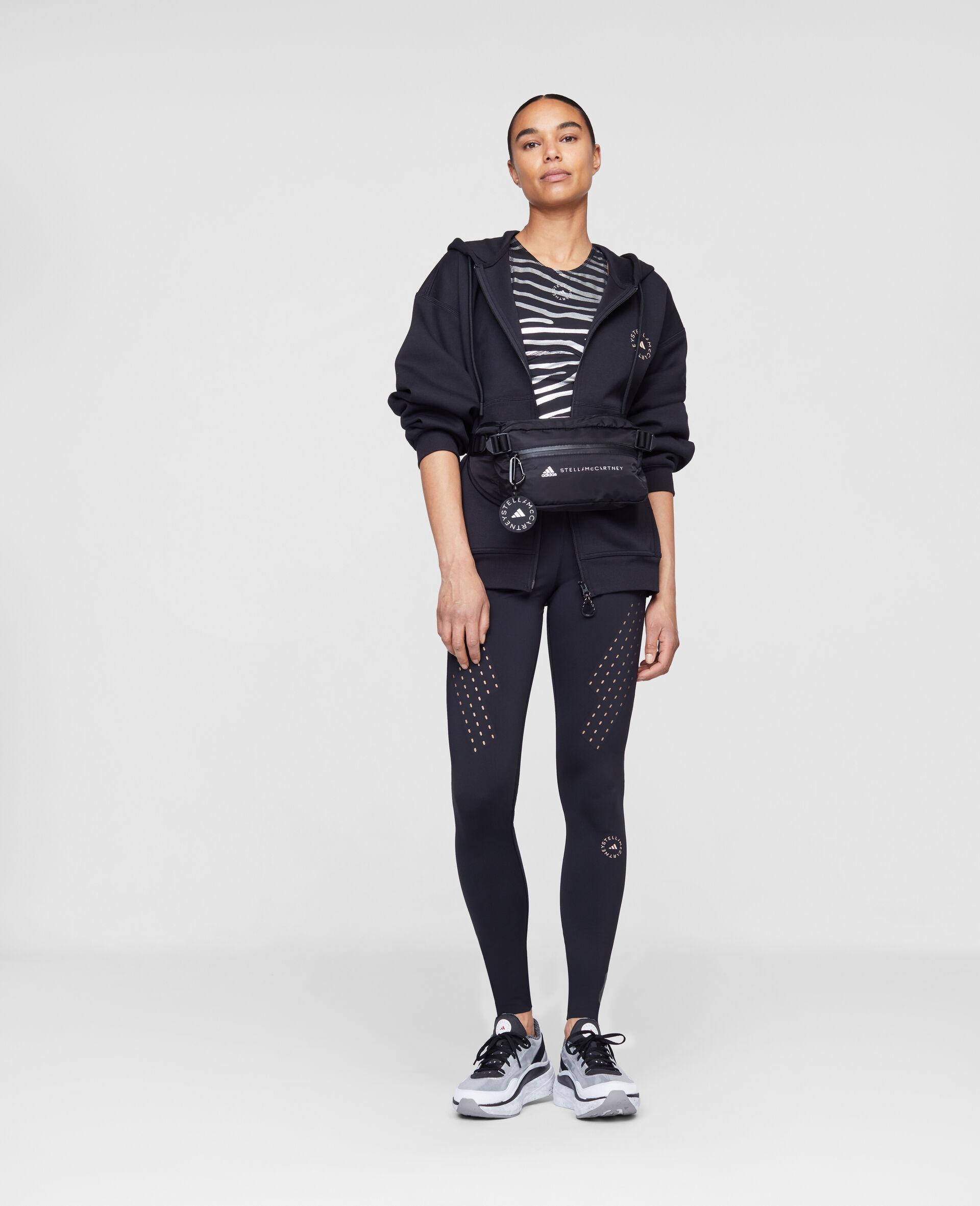 Black Full Zip Hoodie-Black-large image number 1