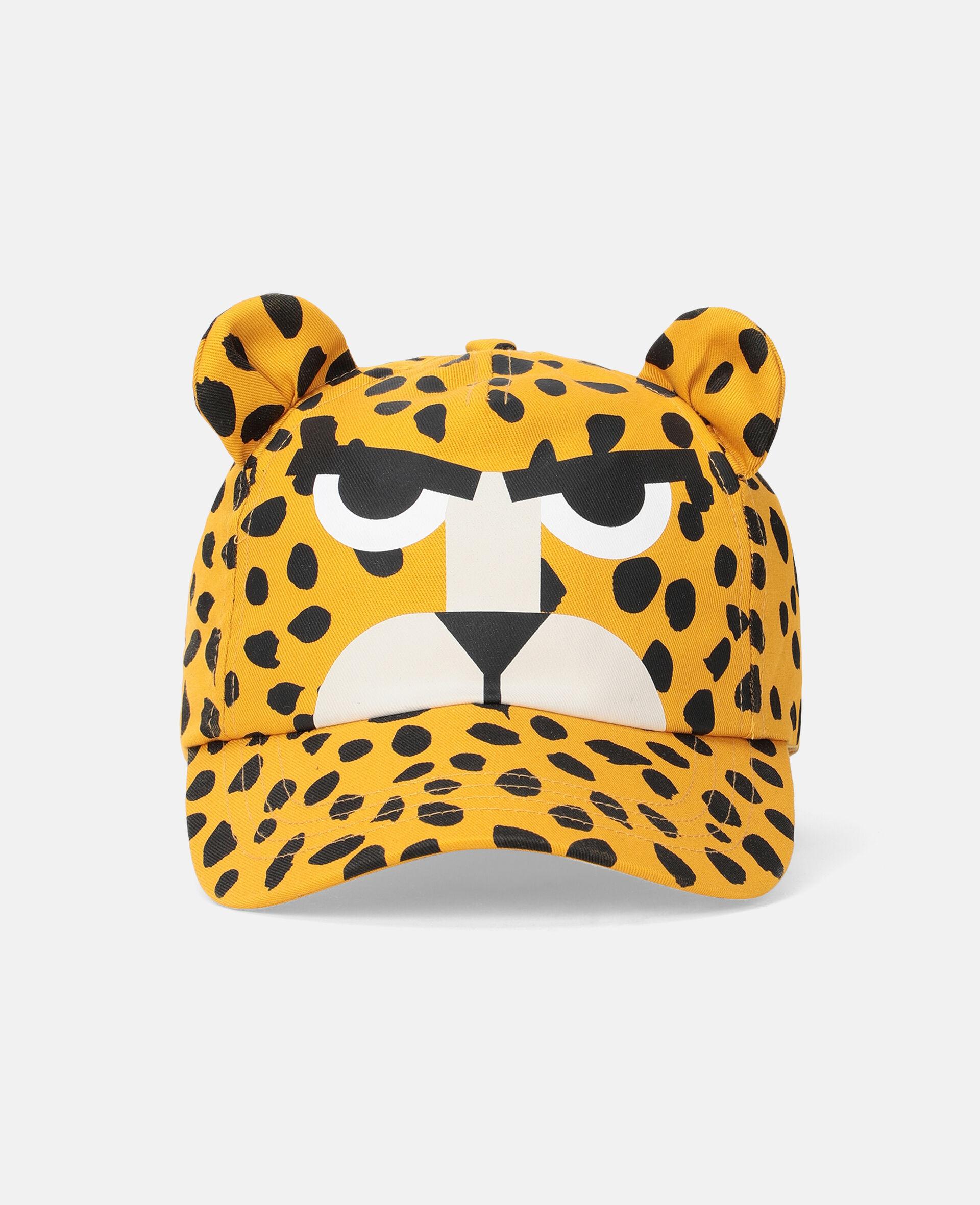 Canvas-Mütze mit Gepardenpunkte-Print -Bunt-large image number 0
