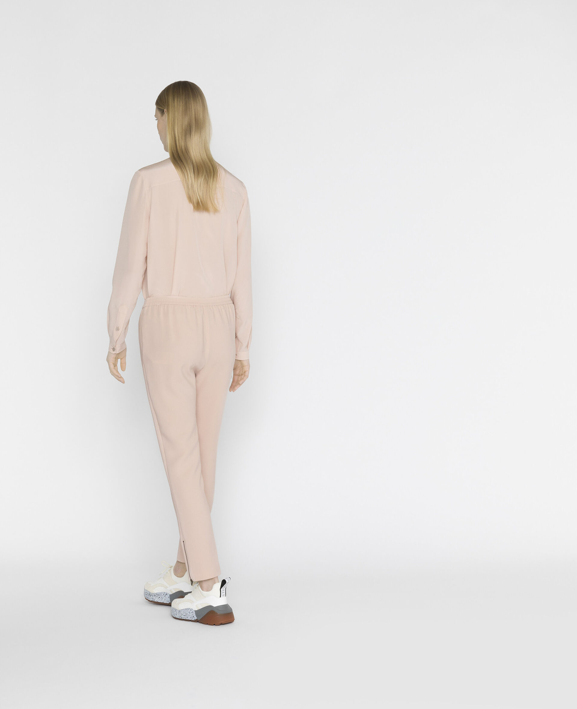 Eva 真丝衬衫-粉色-large image number 2