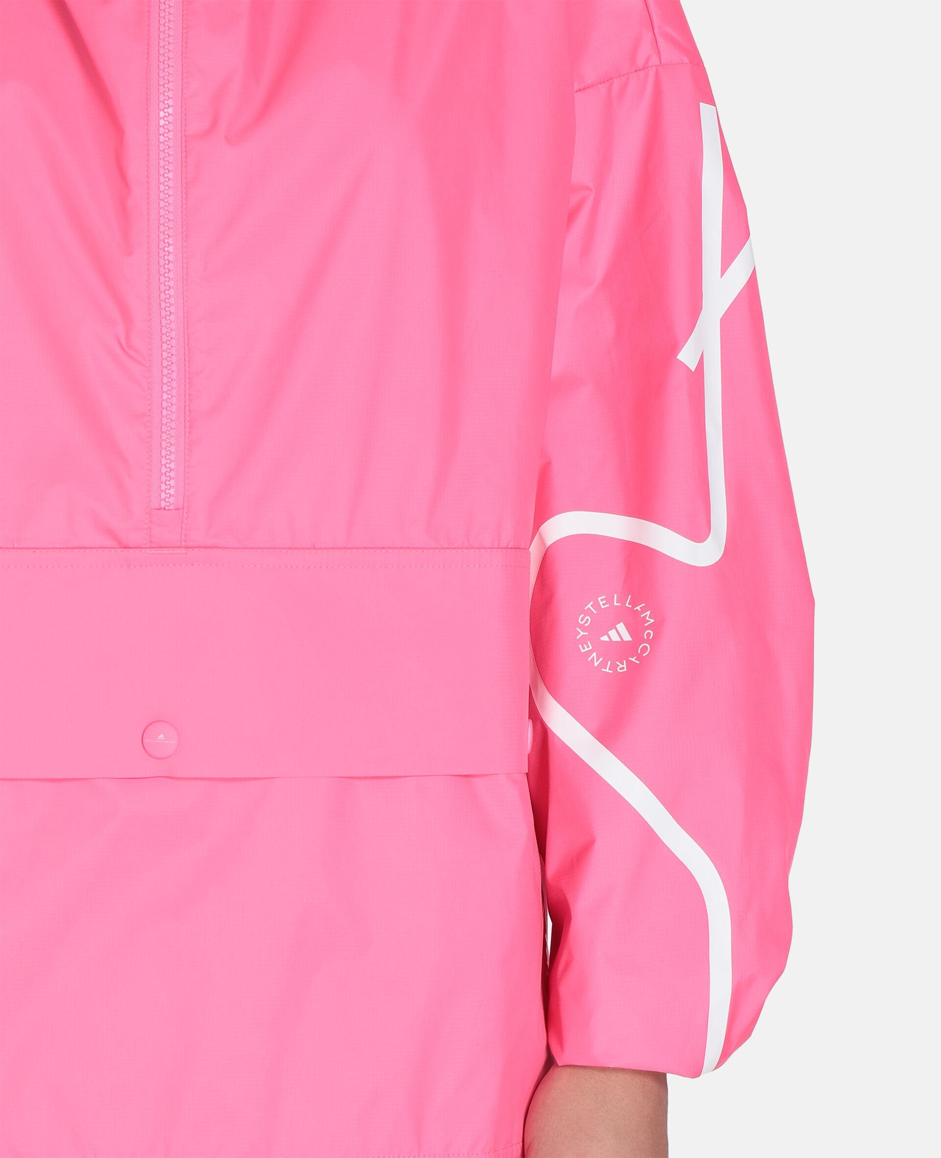 Pink Half-Zip Jacket-Pink-large image number 3