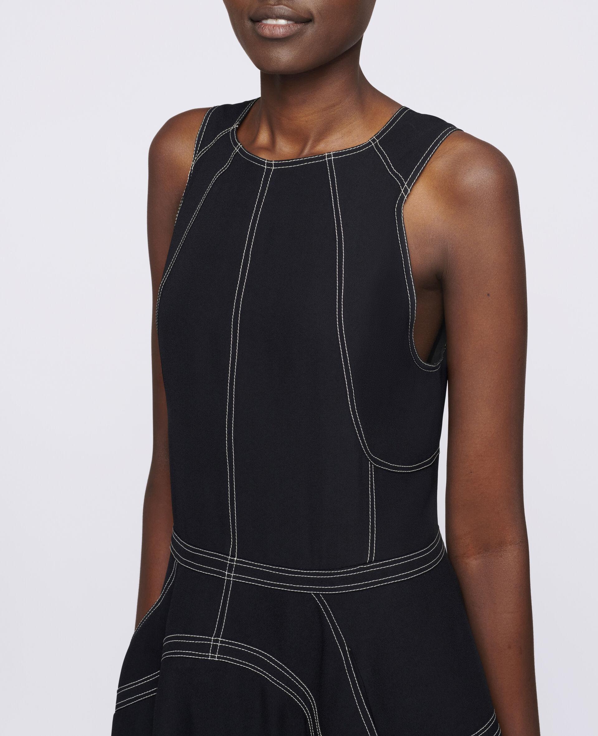 Amber Midi Dress-Black-large image number 3