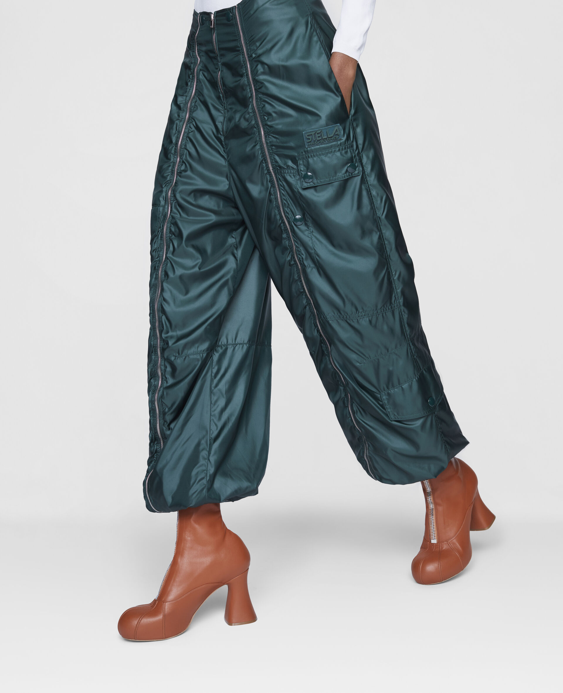 Nella Trousers-Green-large image number 3