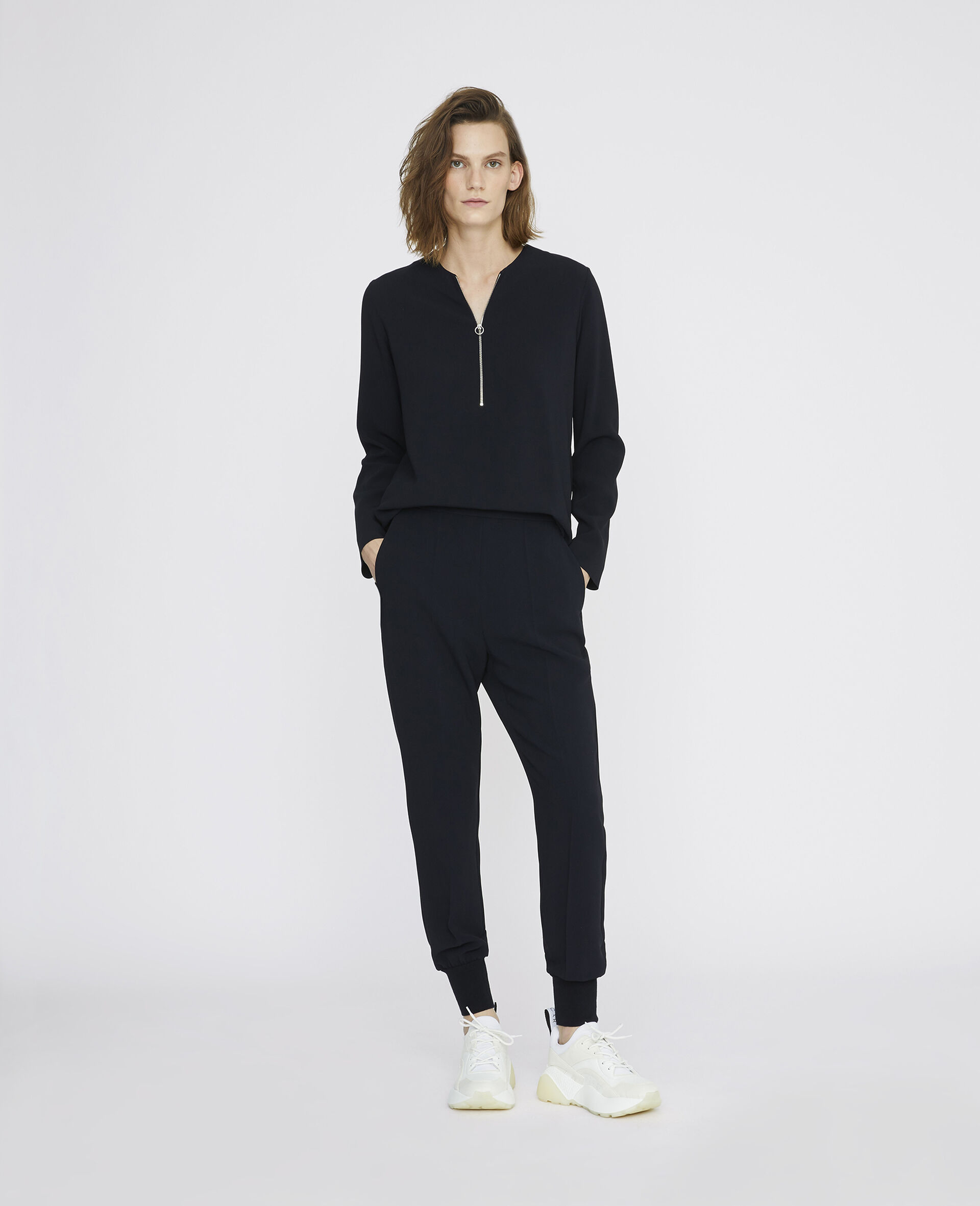 Pantaloni Julia-Nero-large image number 1