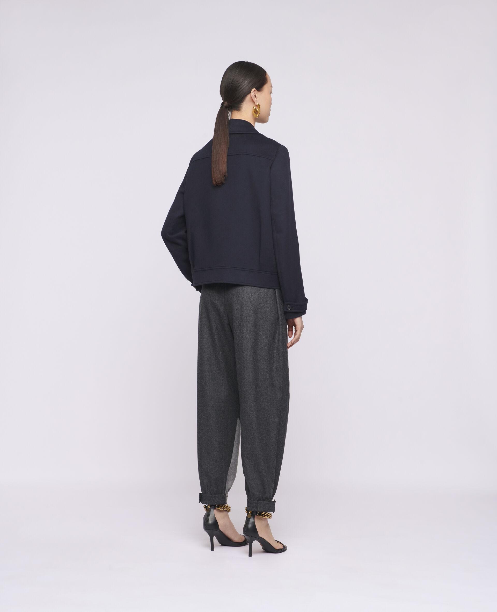 Manteau en laine Rebecca-Bleu-large image number 2