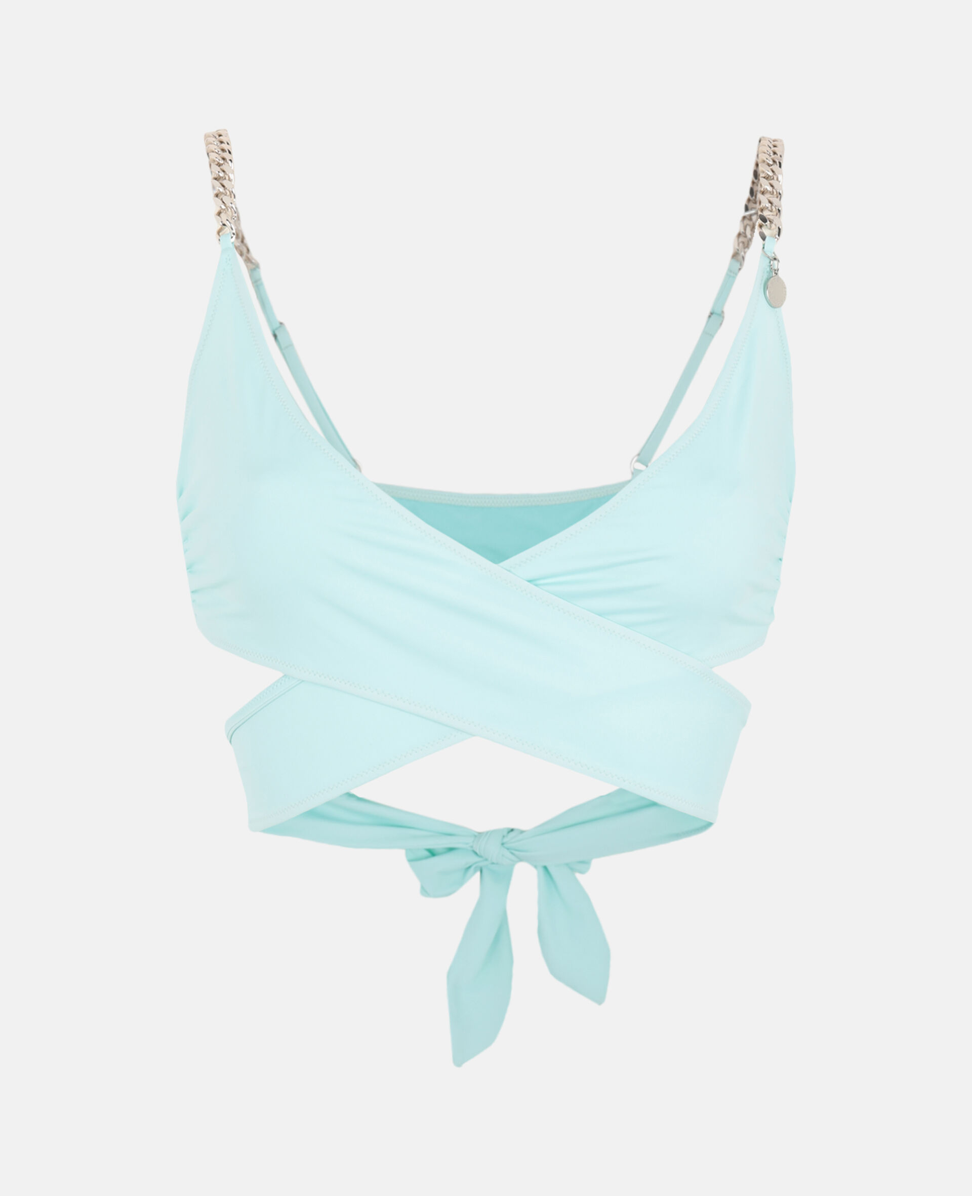 Iconic Chain Wrap Top-Mint-large image number 0