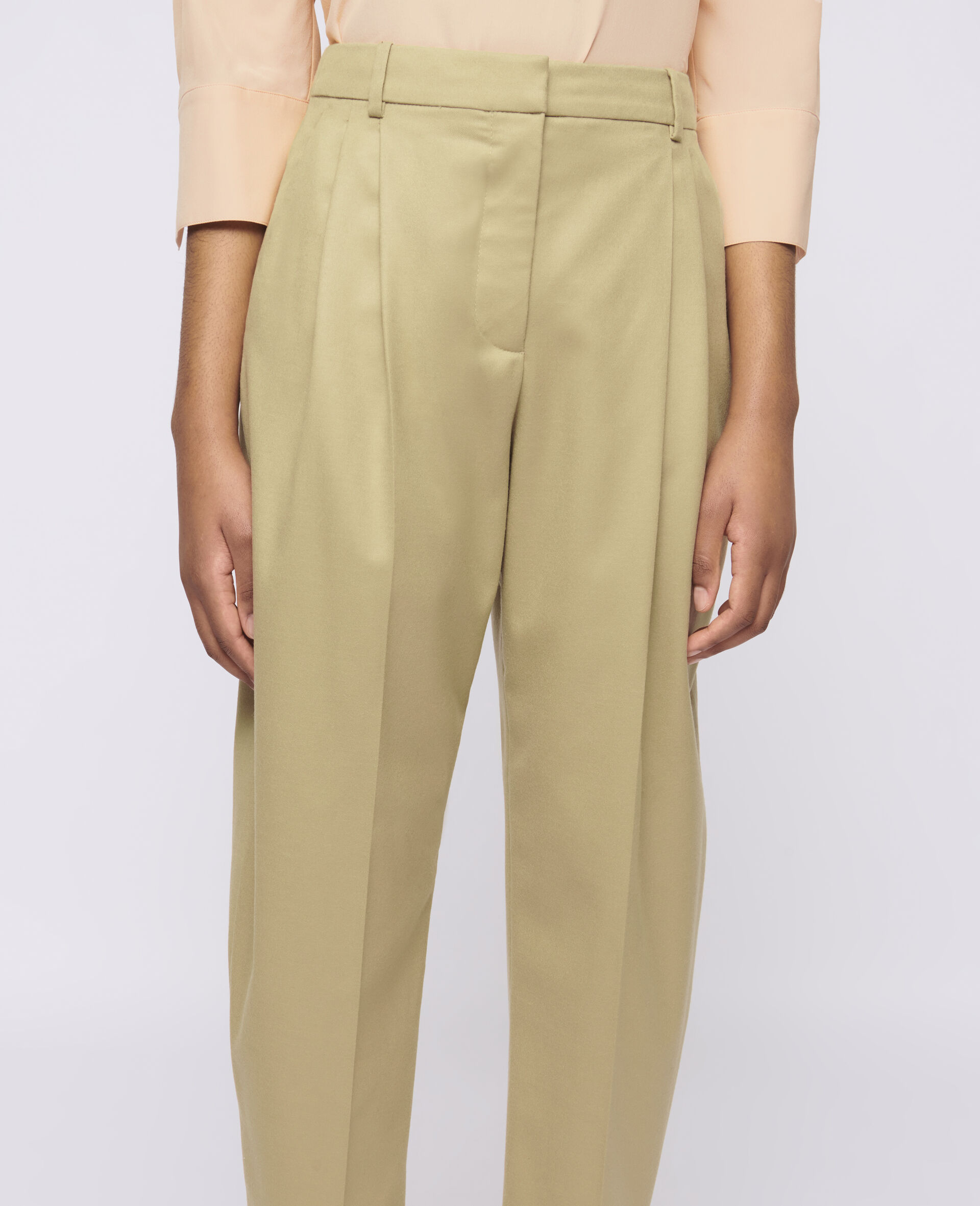 Dawson Wool Trousers-Grey-large image number 3