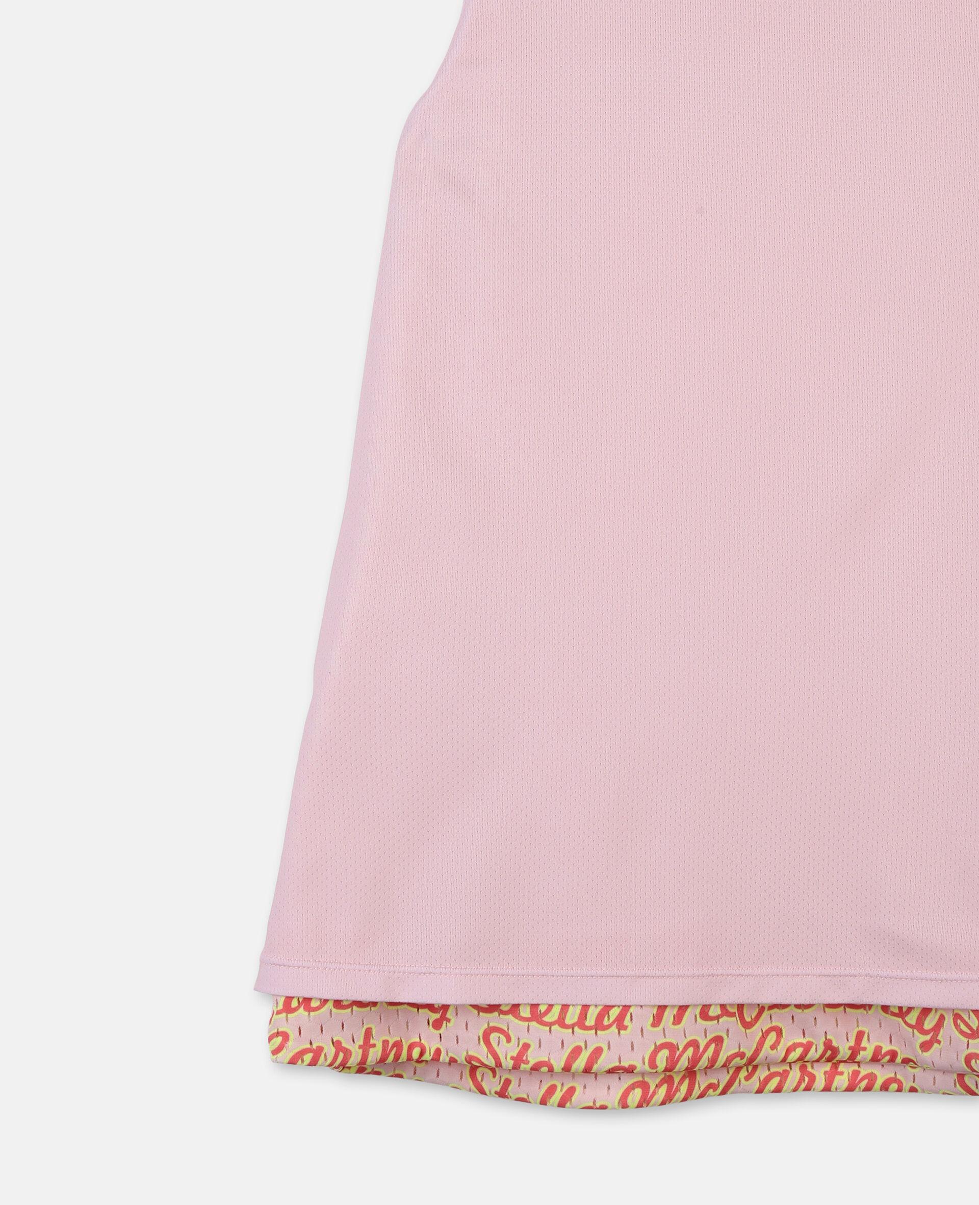 Logo Reversible Active Vest -Pink-large image number 2