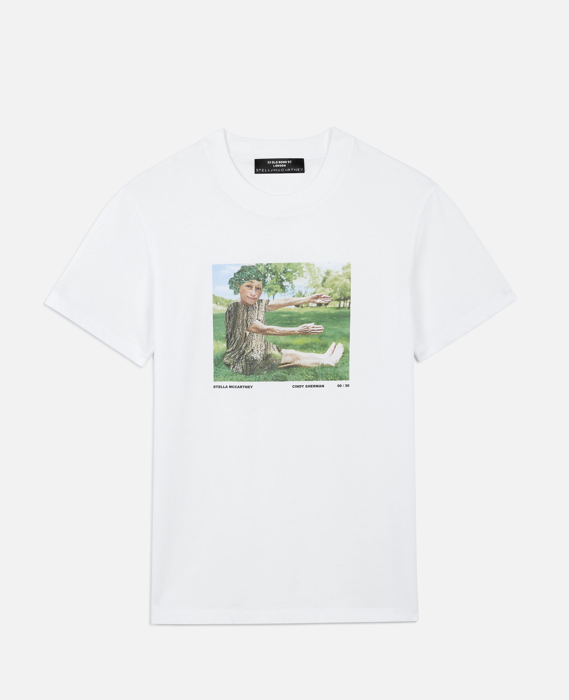 "Cindy Sherman ""E"" T-shirt-White-large image number 0"