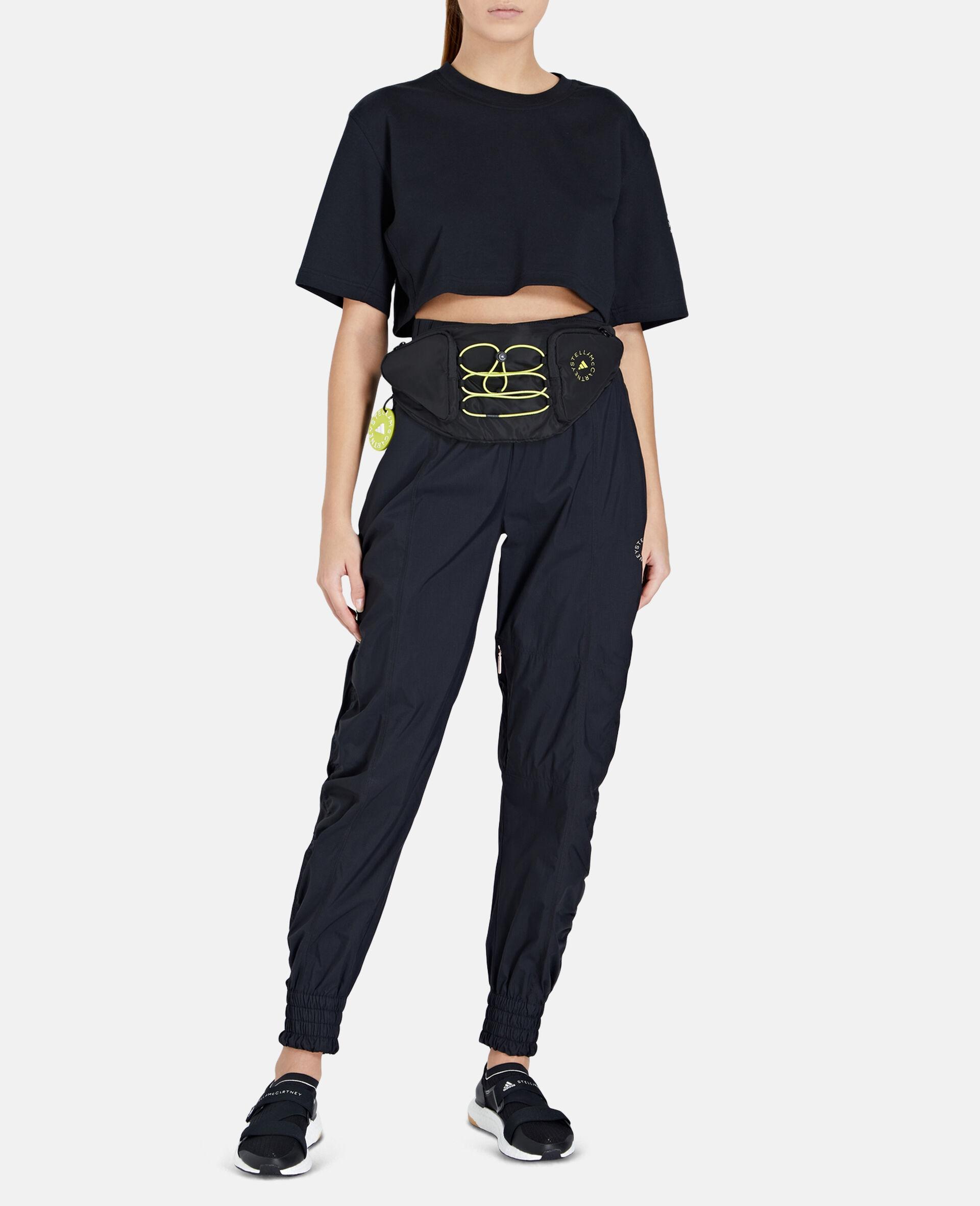 Black Running Belt Bag-Black-large image number 2