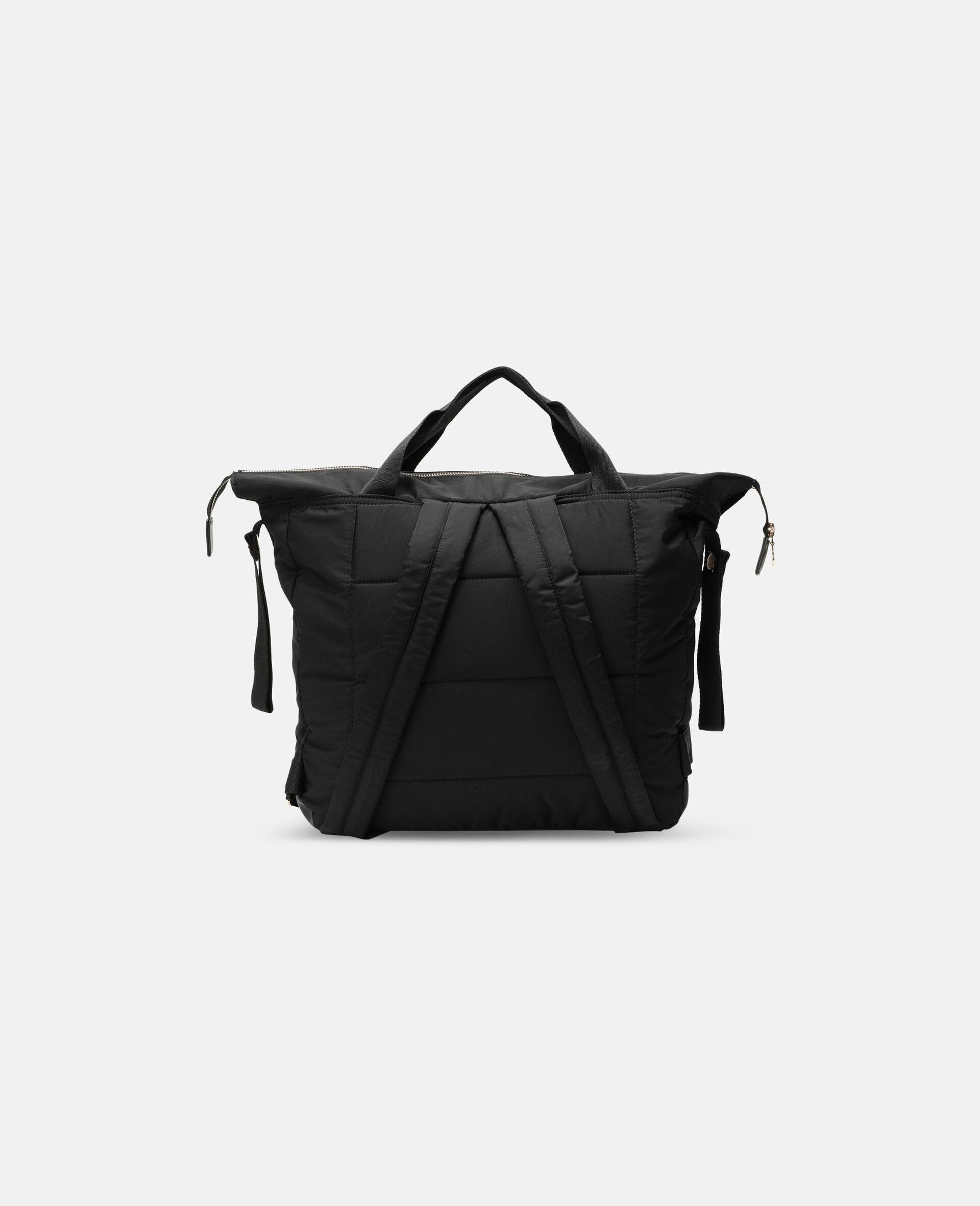 Diaper Backpack-Black-large image number 3
