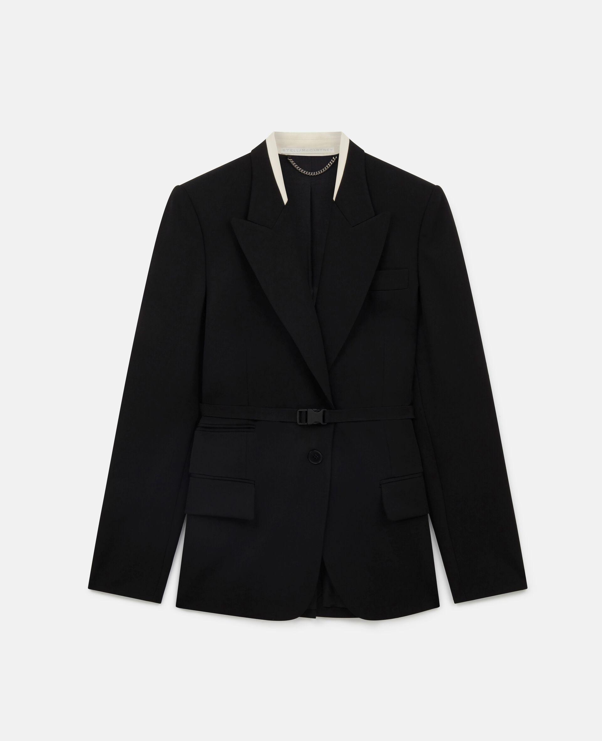 Bella Tailored Jacket-Black-large image number 0