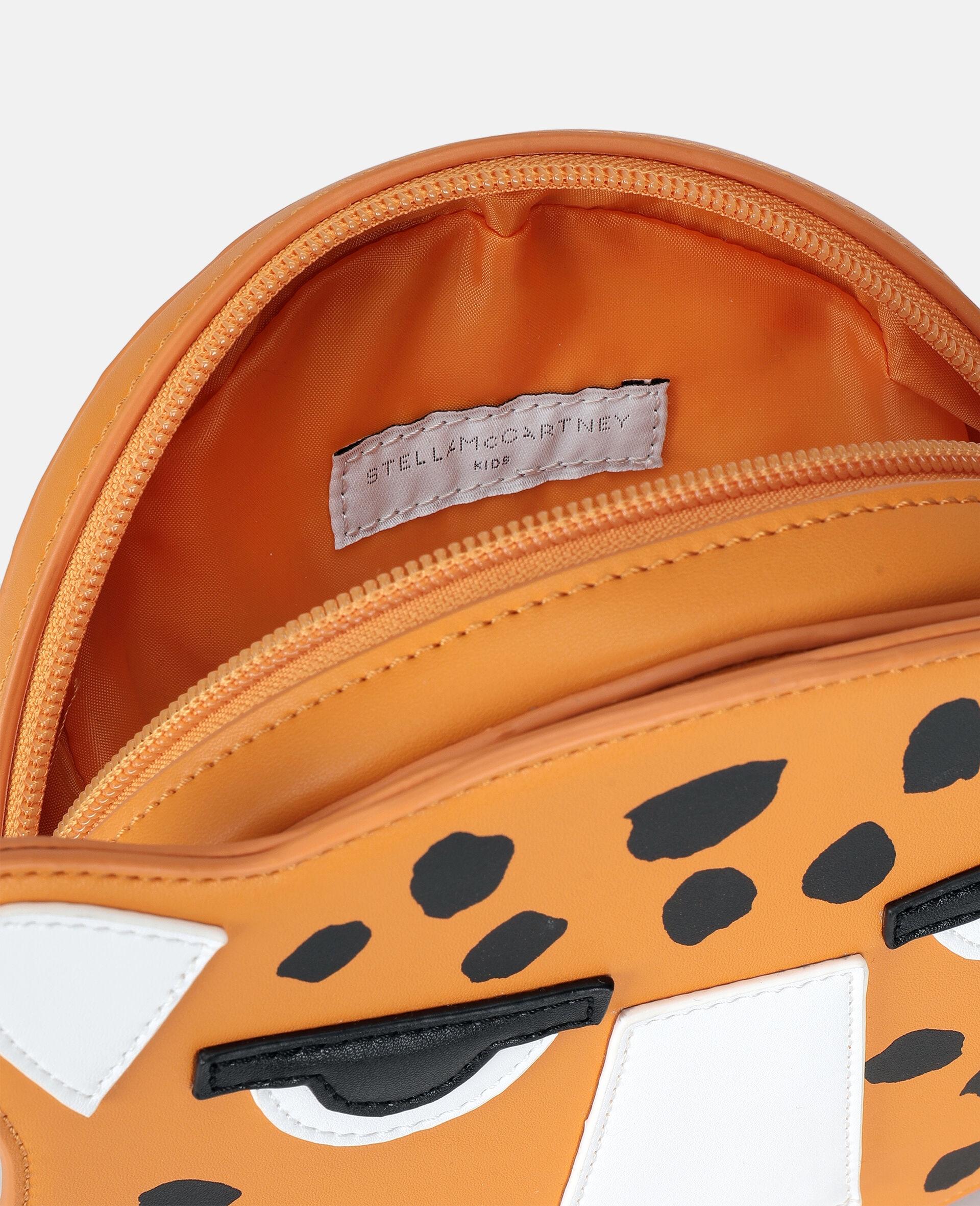 Sac porté épaule guépard -Orange-large image number 2