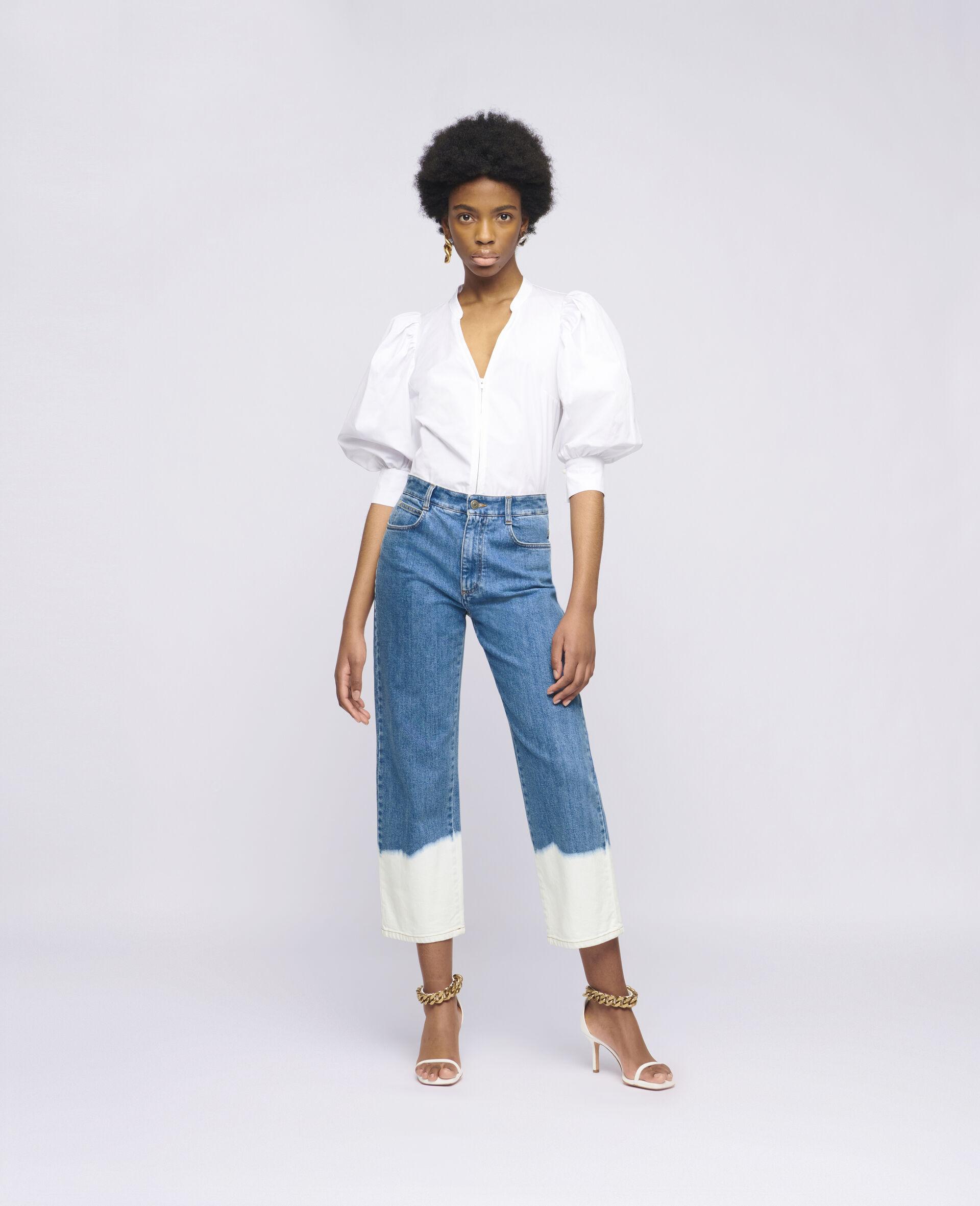 Jeans délavé intense -Bleu-large image number 1