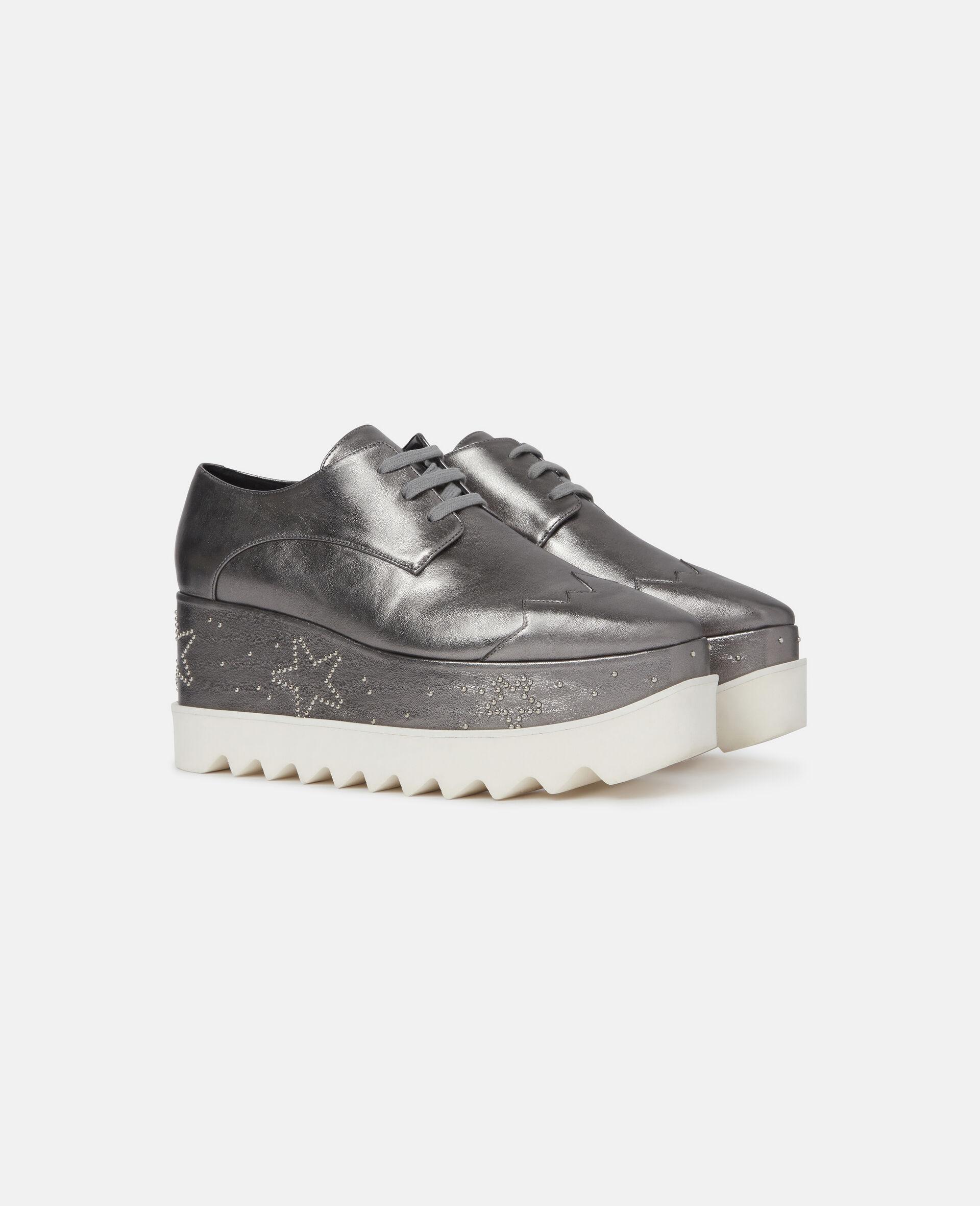 Elyse Glitter Platforms-Grey-large image number 1