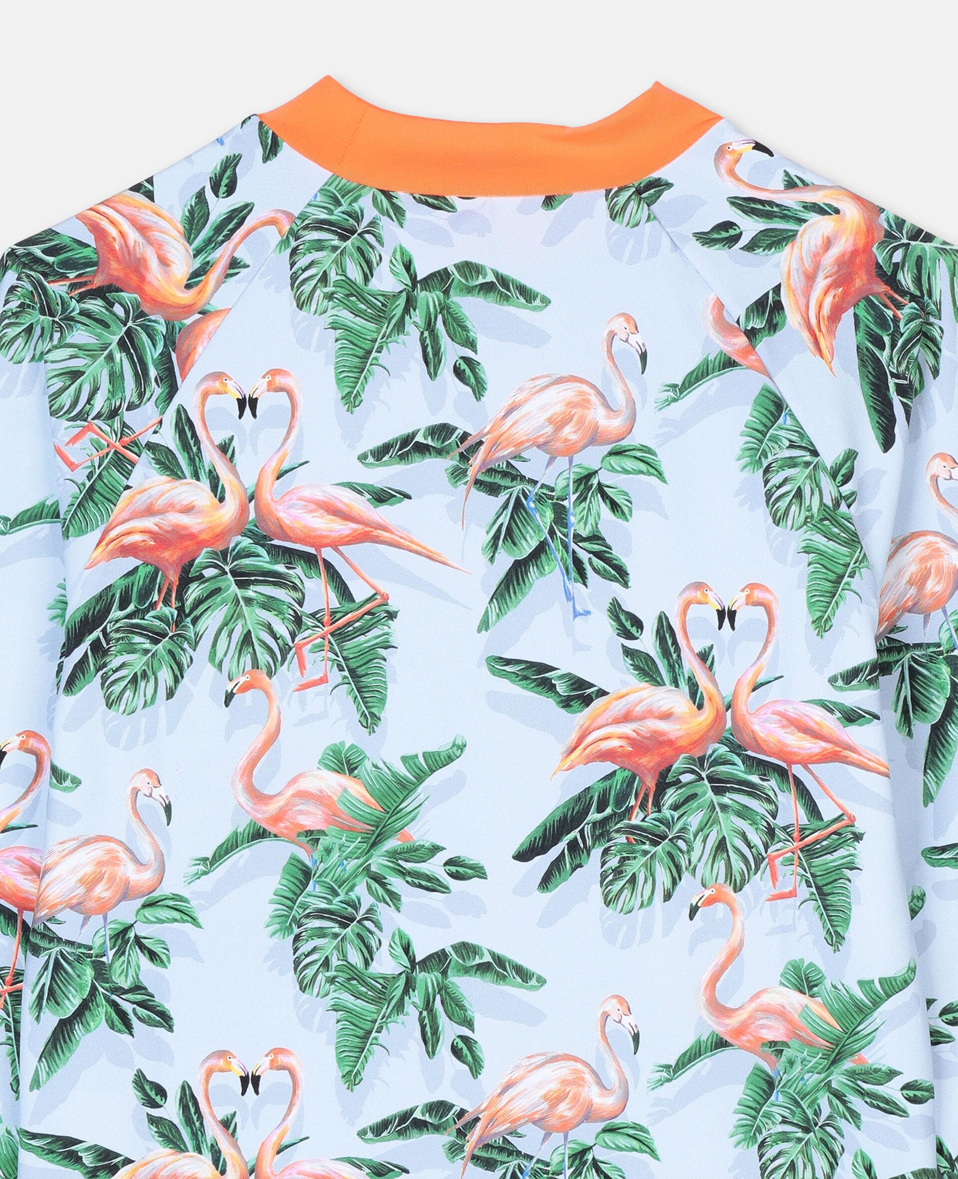 Painty Flamingo Swim T-shirt -Green-large image number 2