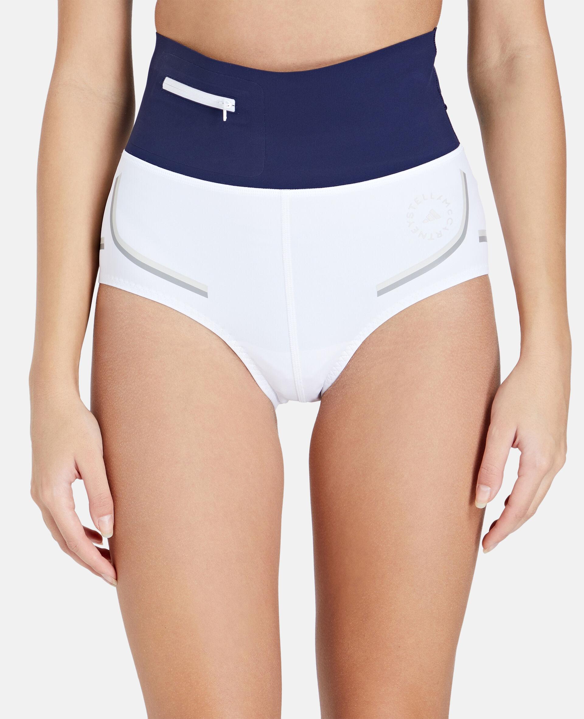 White Beach Defender Bikini Shorts-White-large image number 3