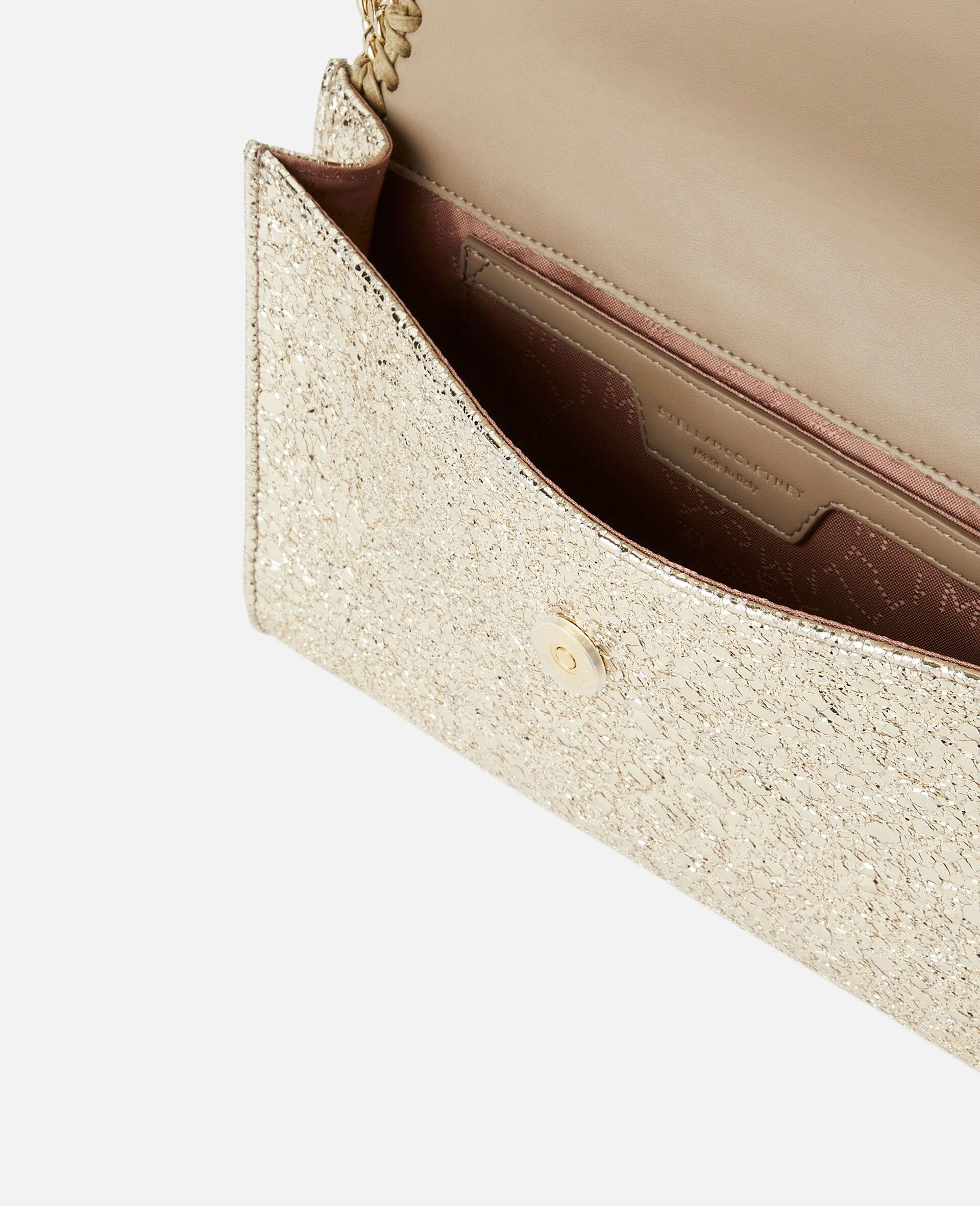 Falabella Mini Shoulder Bag -Yellow-large image number 3