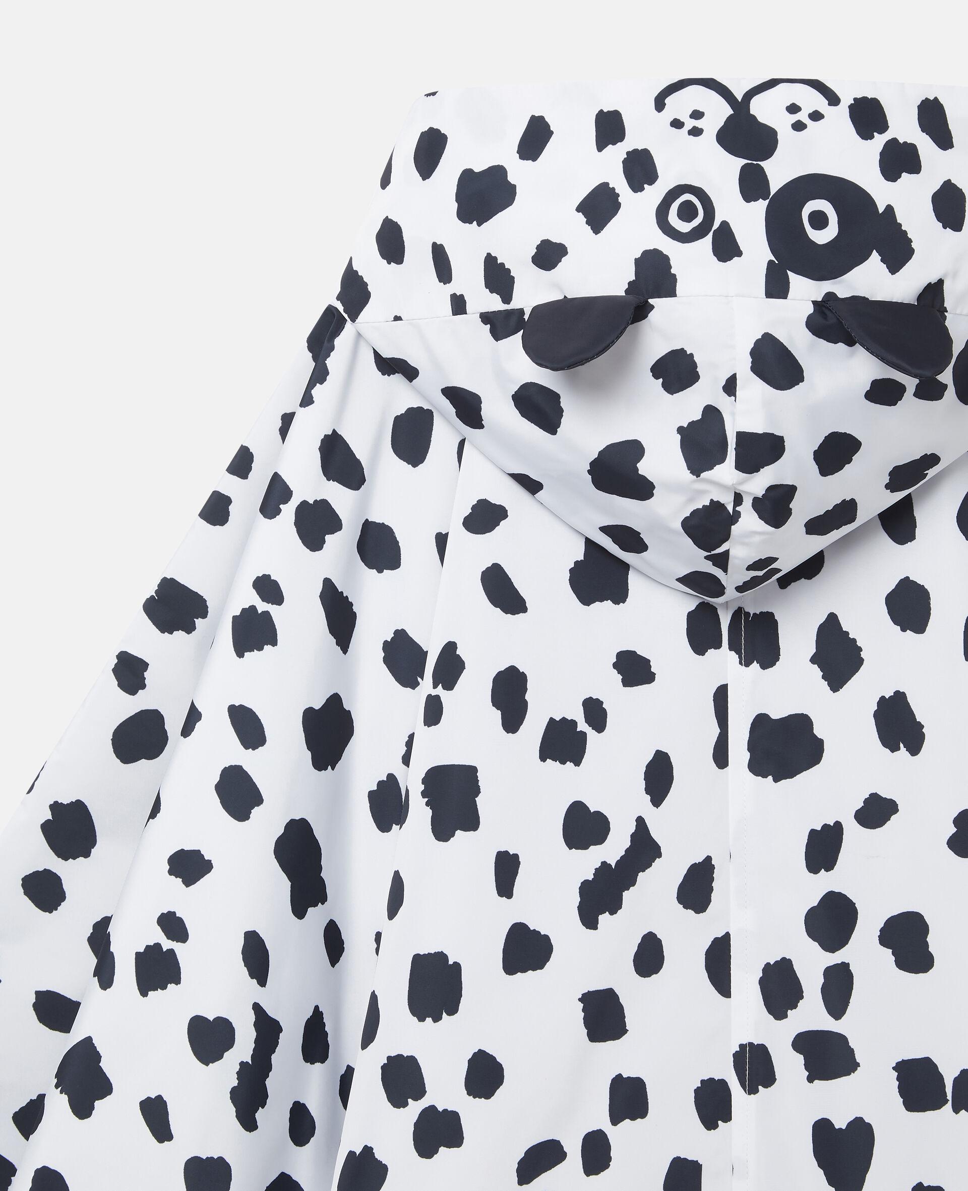 Cape mit Dalmatiner-Punkten-Weiß-large image number 1