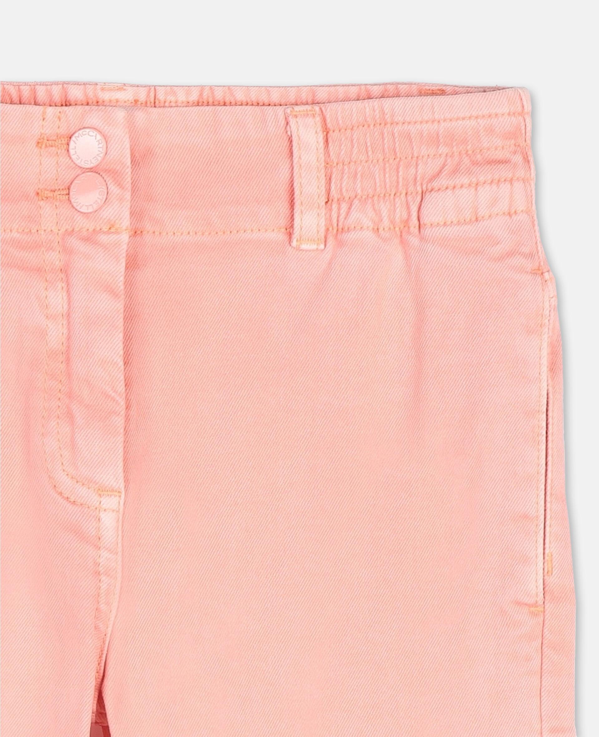 Mom Denim Pants-Pink-large image number 1