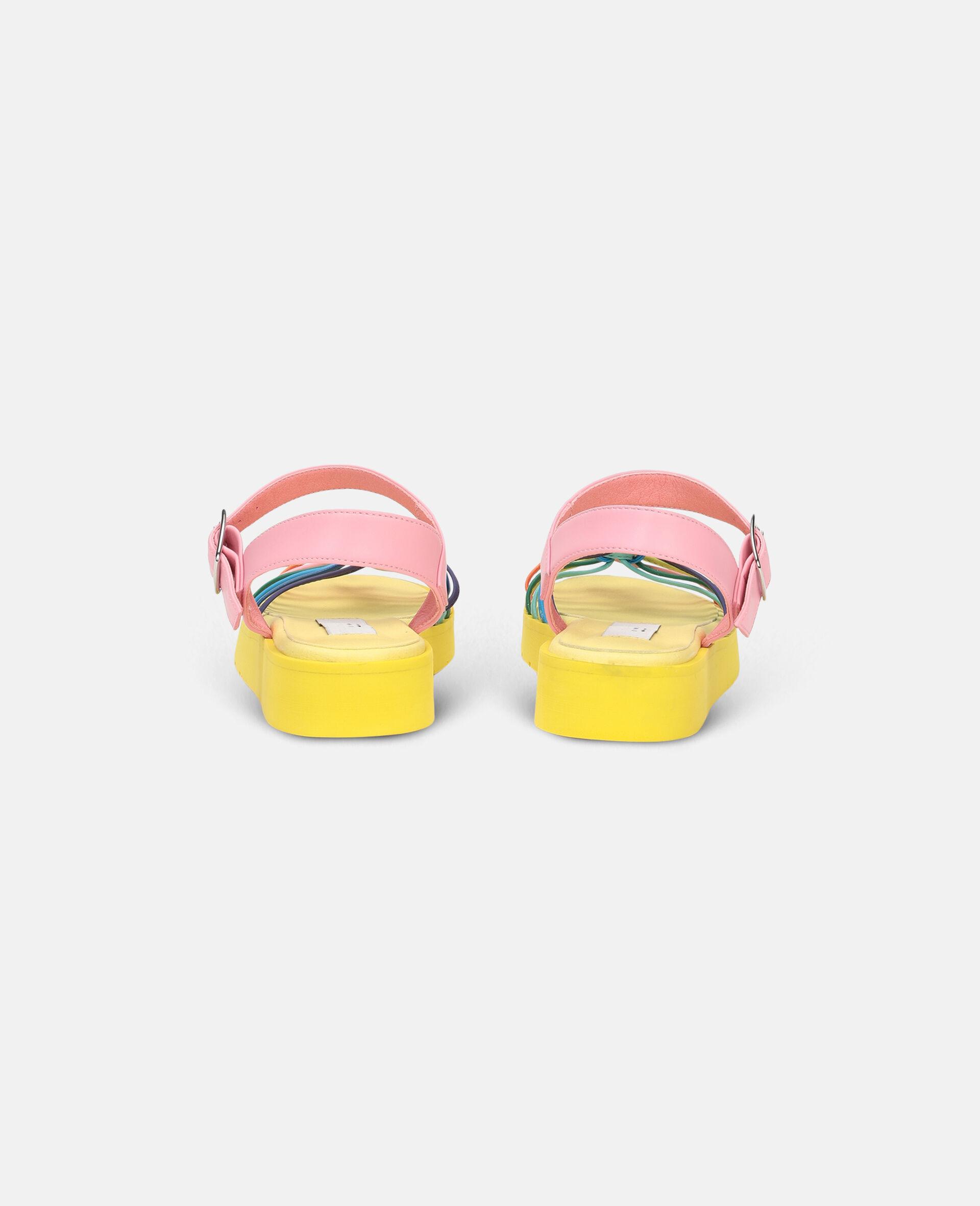 多色结饰凉鞋 -Multicolored-large image number 2