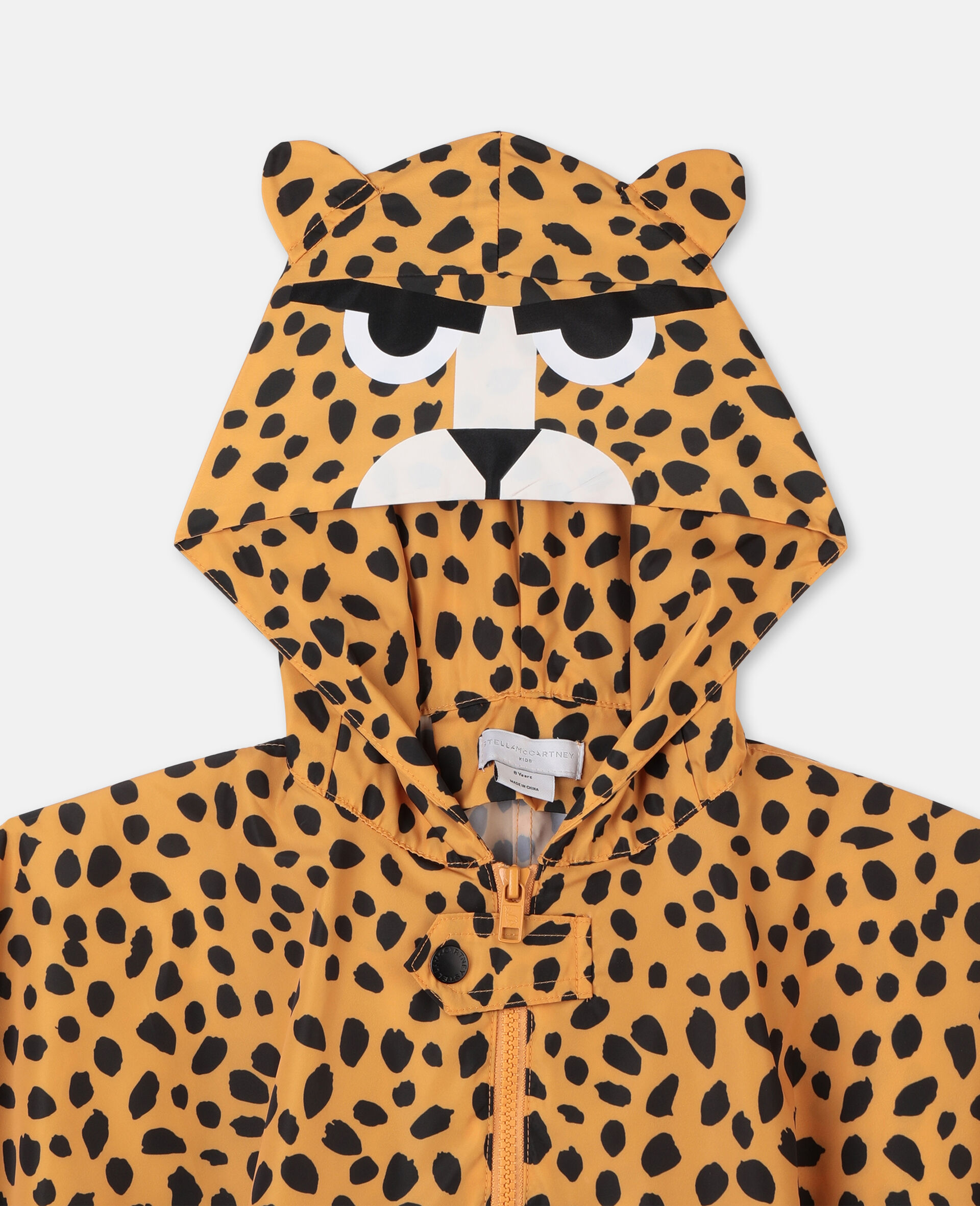Cheetah Dots Cape -Multicoloured-large image number 1