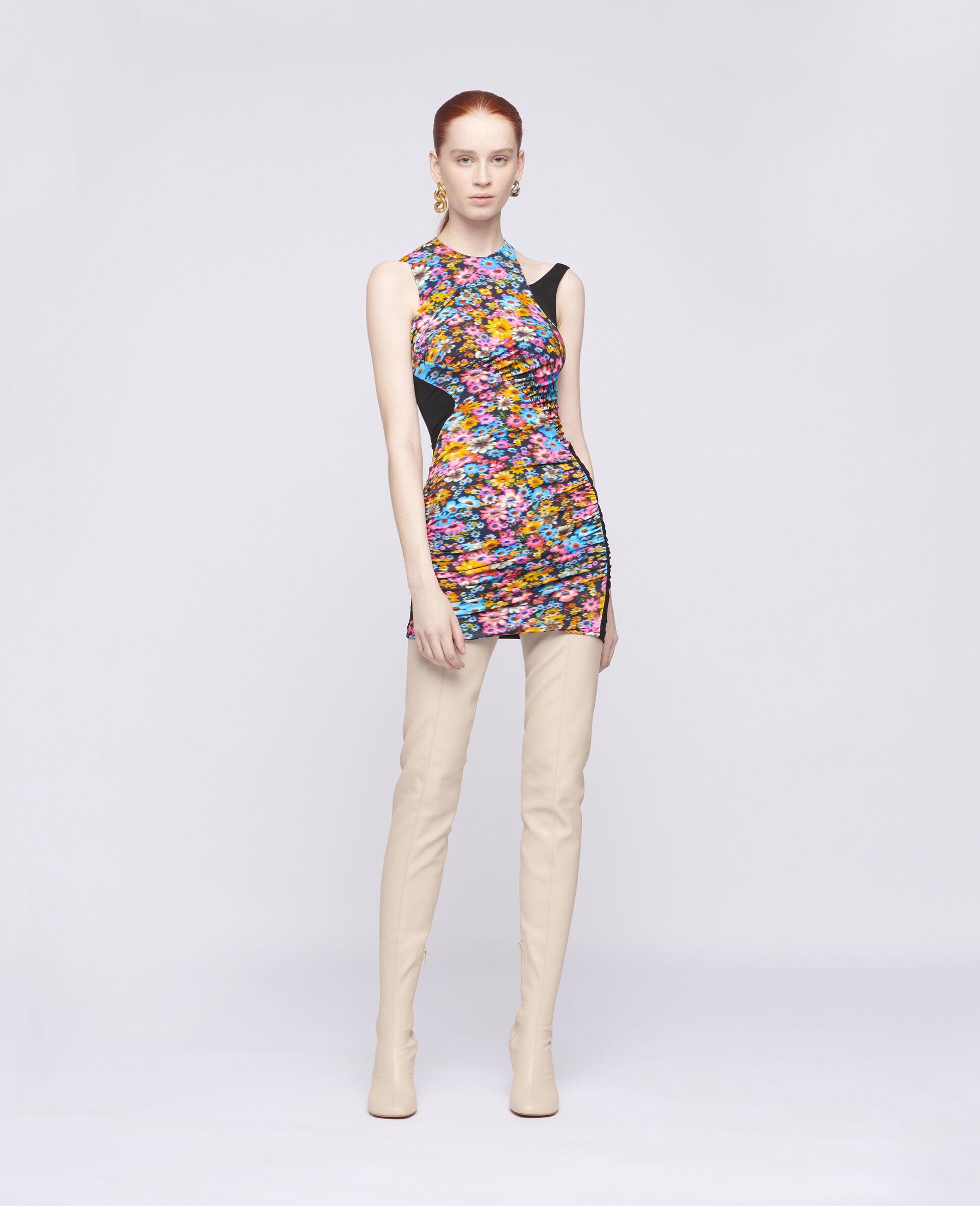 Melissa Mini Dress-Multicolour-large image number 1