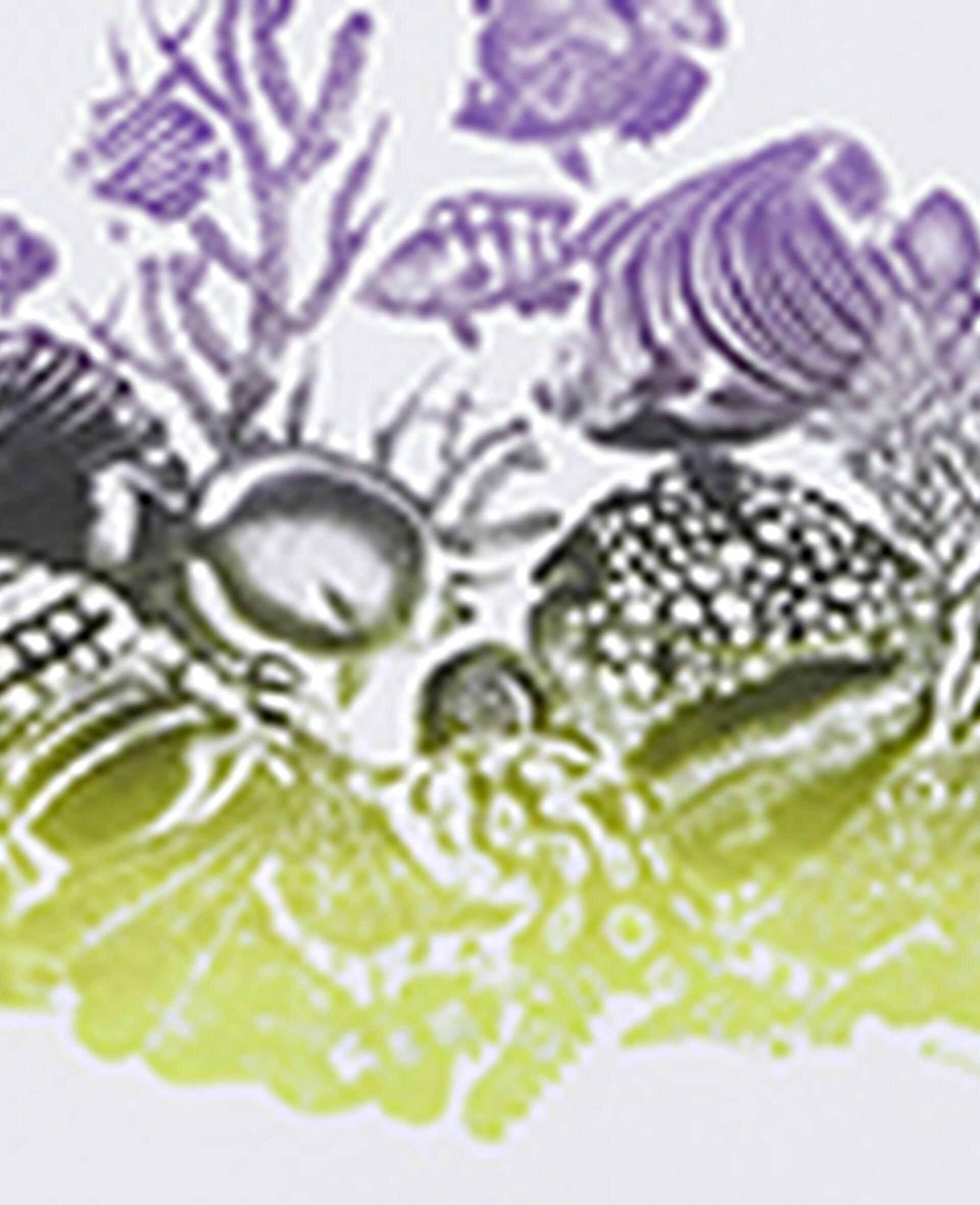 T-shirt en coton à imprimé vie marine-Blanc-large image number 4