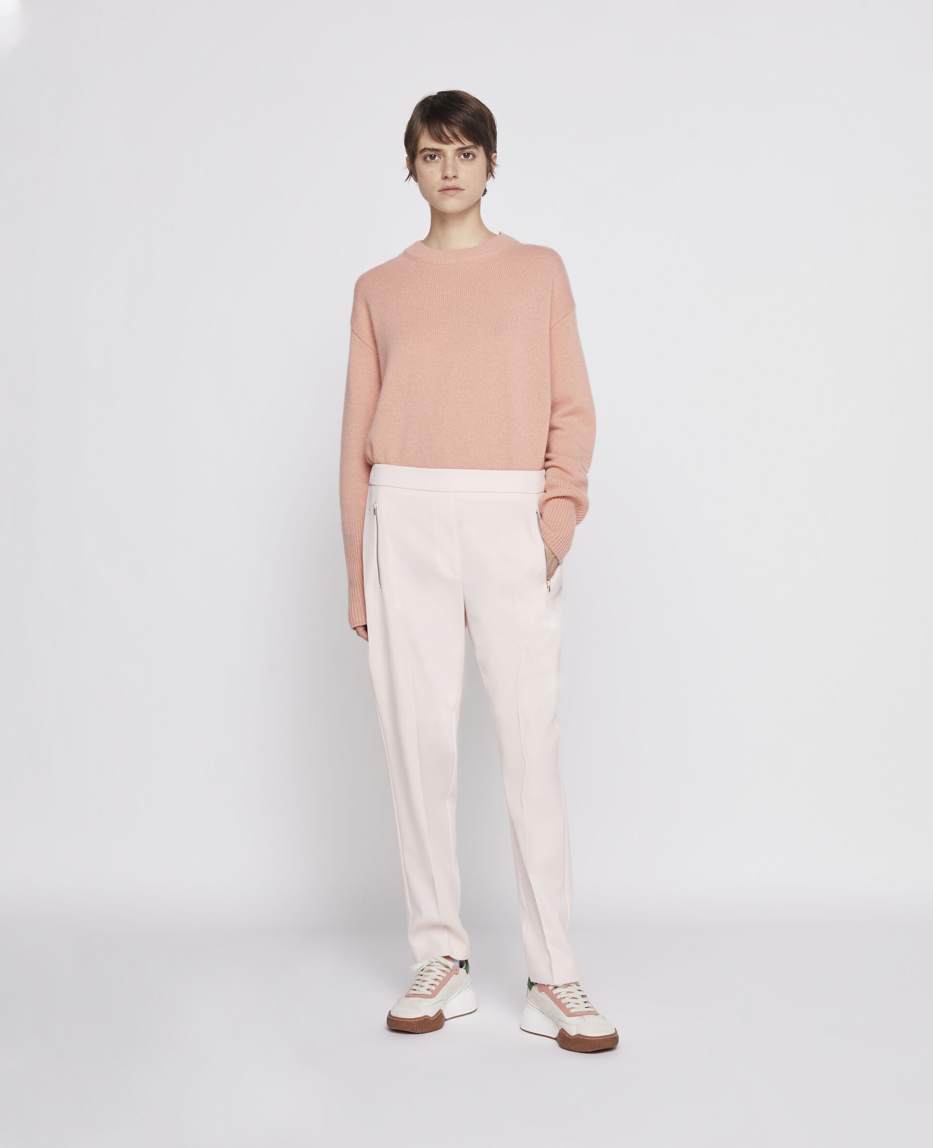 Piet Wool Trousers-Pink-large image number 3