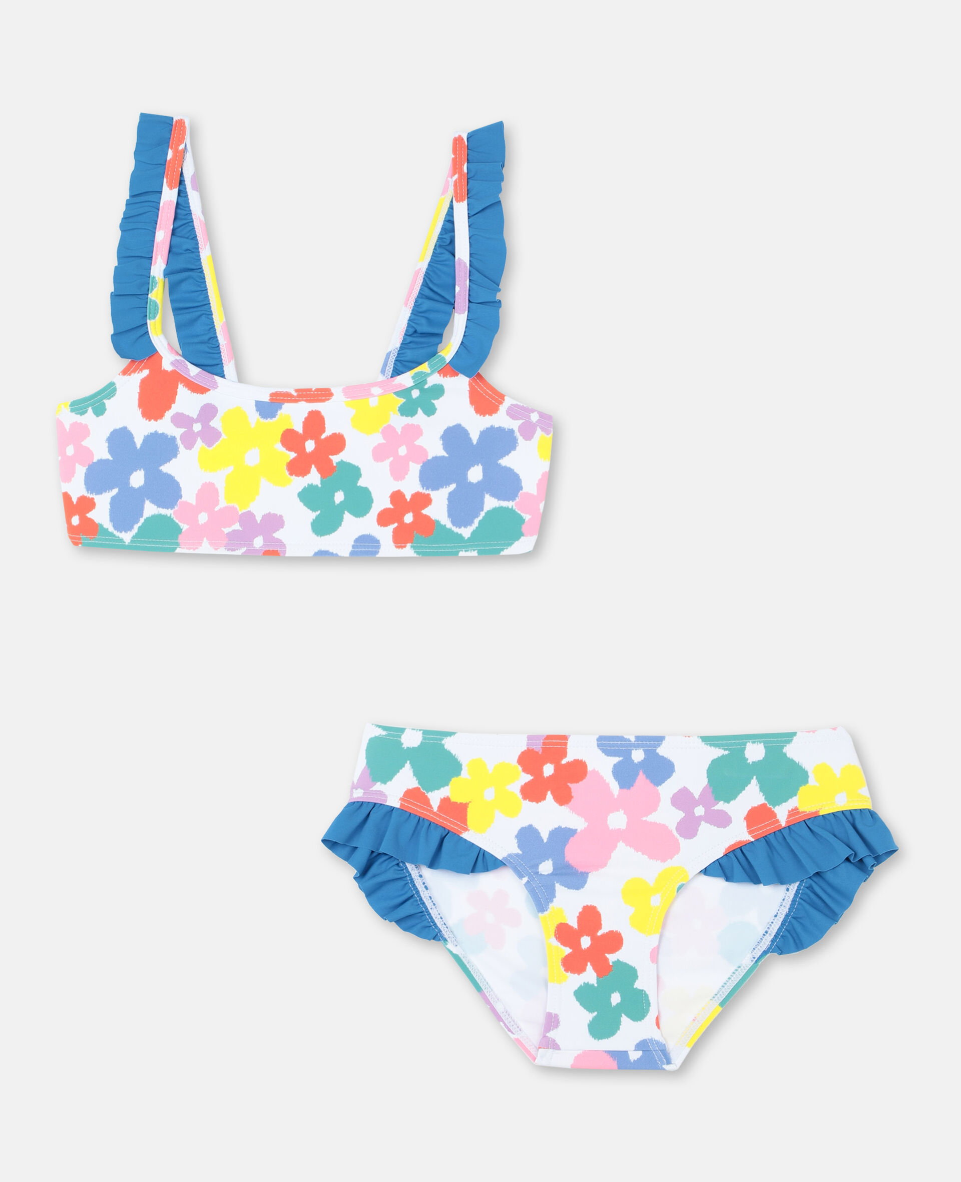 Multicolour Flower Bikini -Multicolour-large image number 0